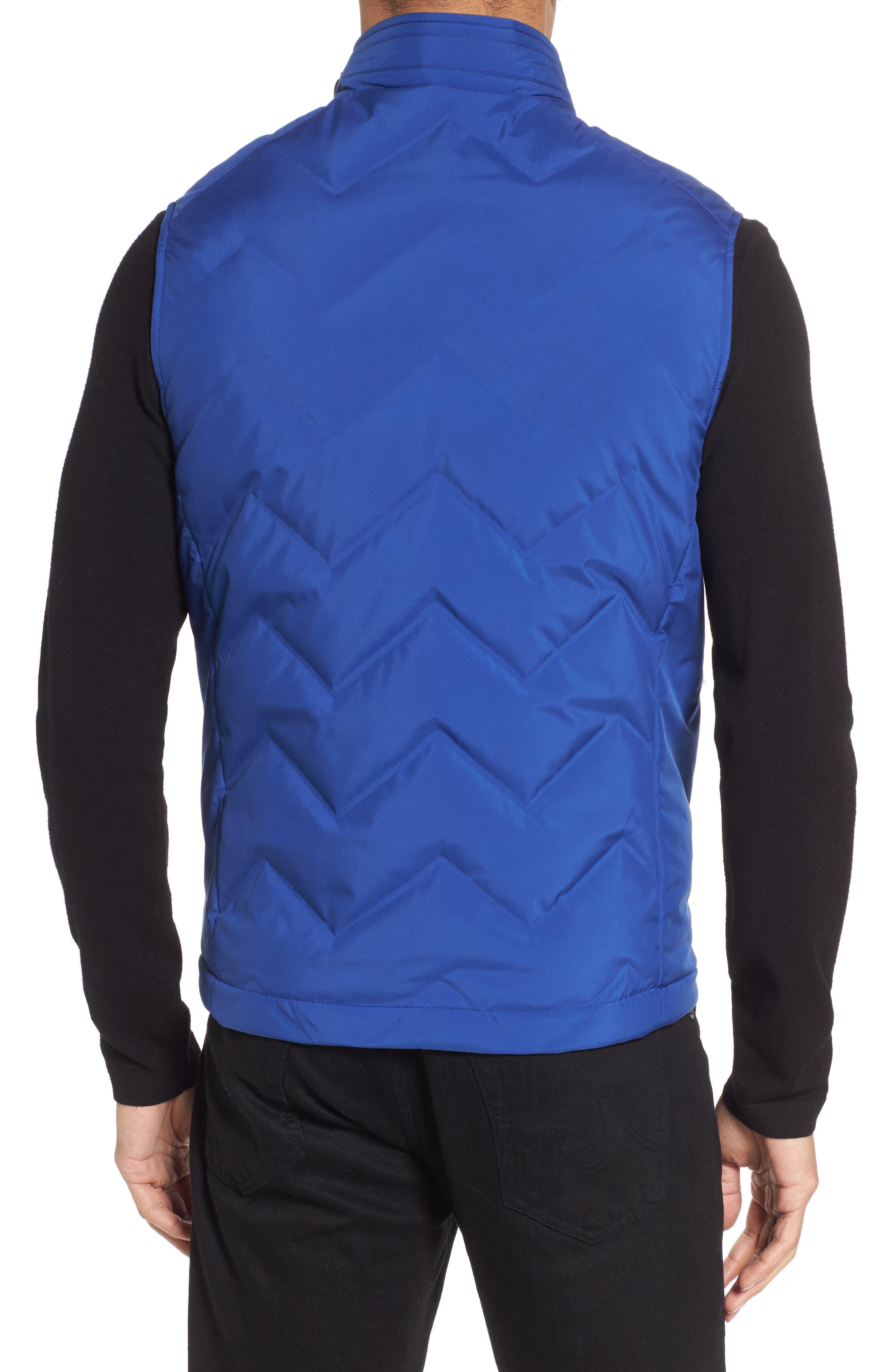 Hobart Down Vest,                             Alternate thumbnail 2, color,                             BRIGHT BLUE