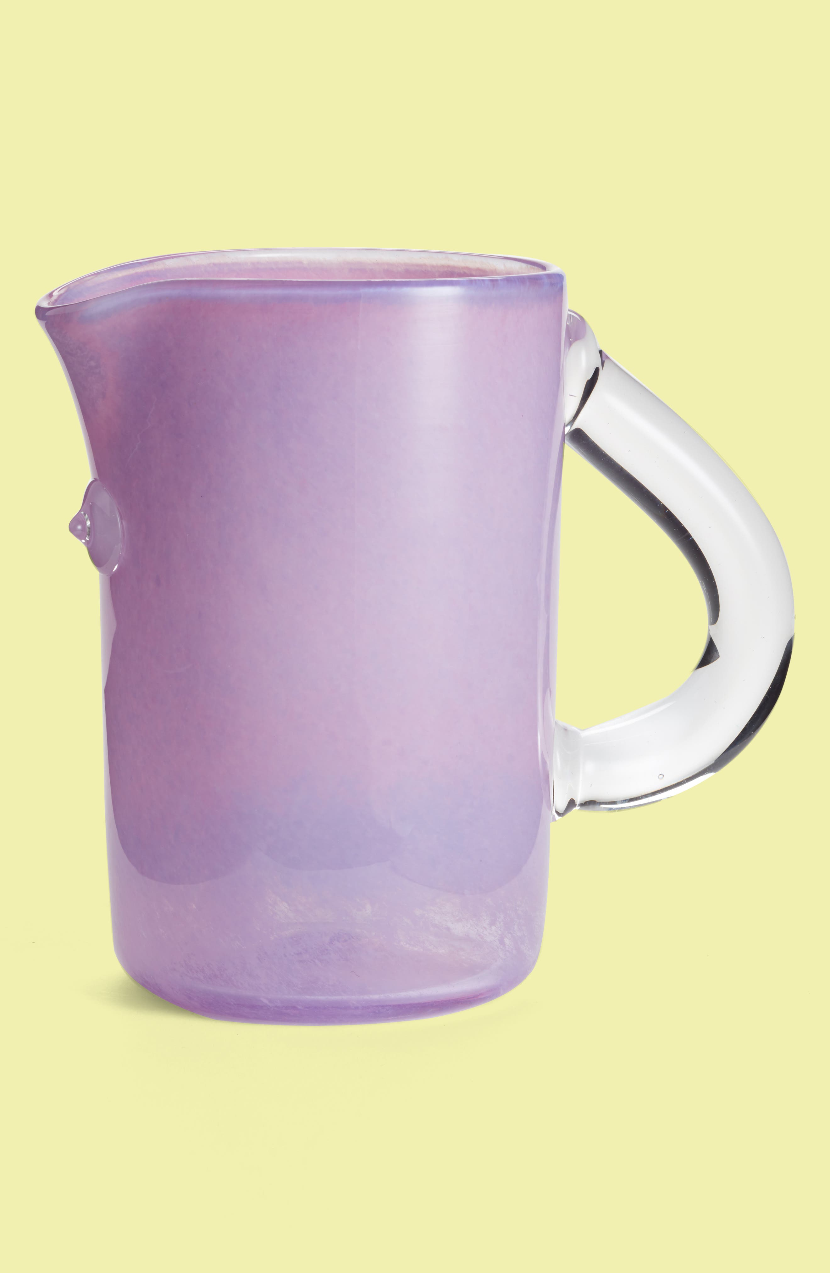 Asp & Hand Tube Pitcher,                             Main thumbnail 1, color,                             530