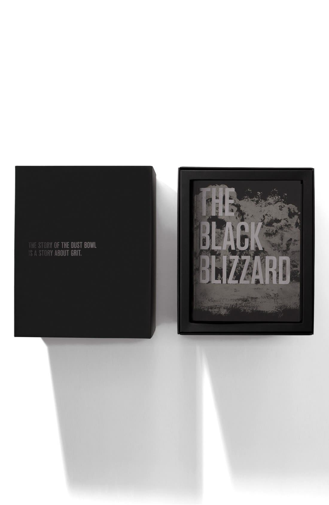'The Black Blizzard' Chronograph Interchangeable Strap Watch, 48mm,                             Alternate thumbnail 4, color,                             SILVER/ BLACK