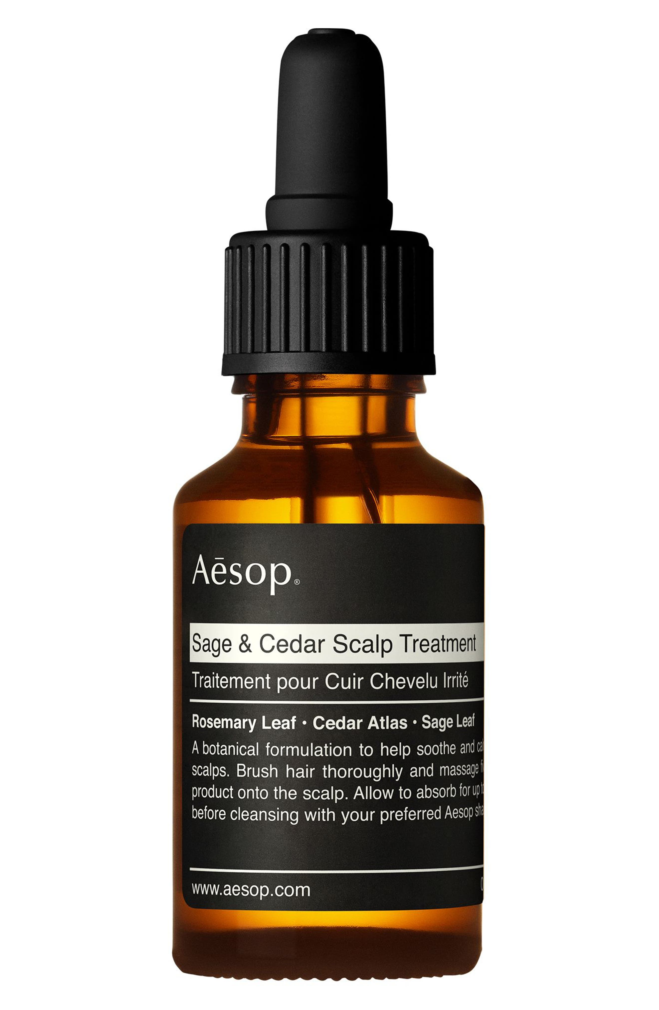AESOP Sage & Cedar Scalp Treatment, Main, color, NONE
