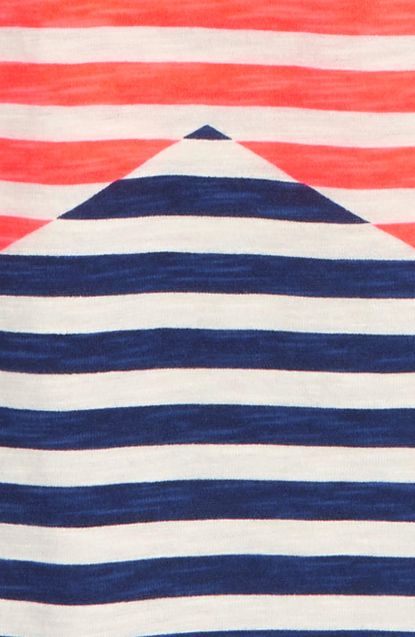 Stripy Icon Stripe T-Shirt,                             Alternate thumbnail 2, color,                             414