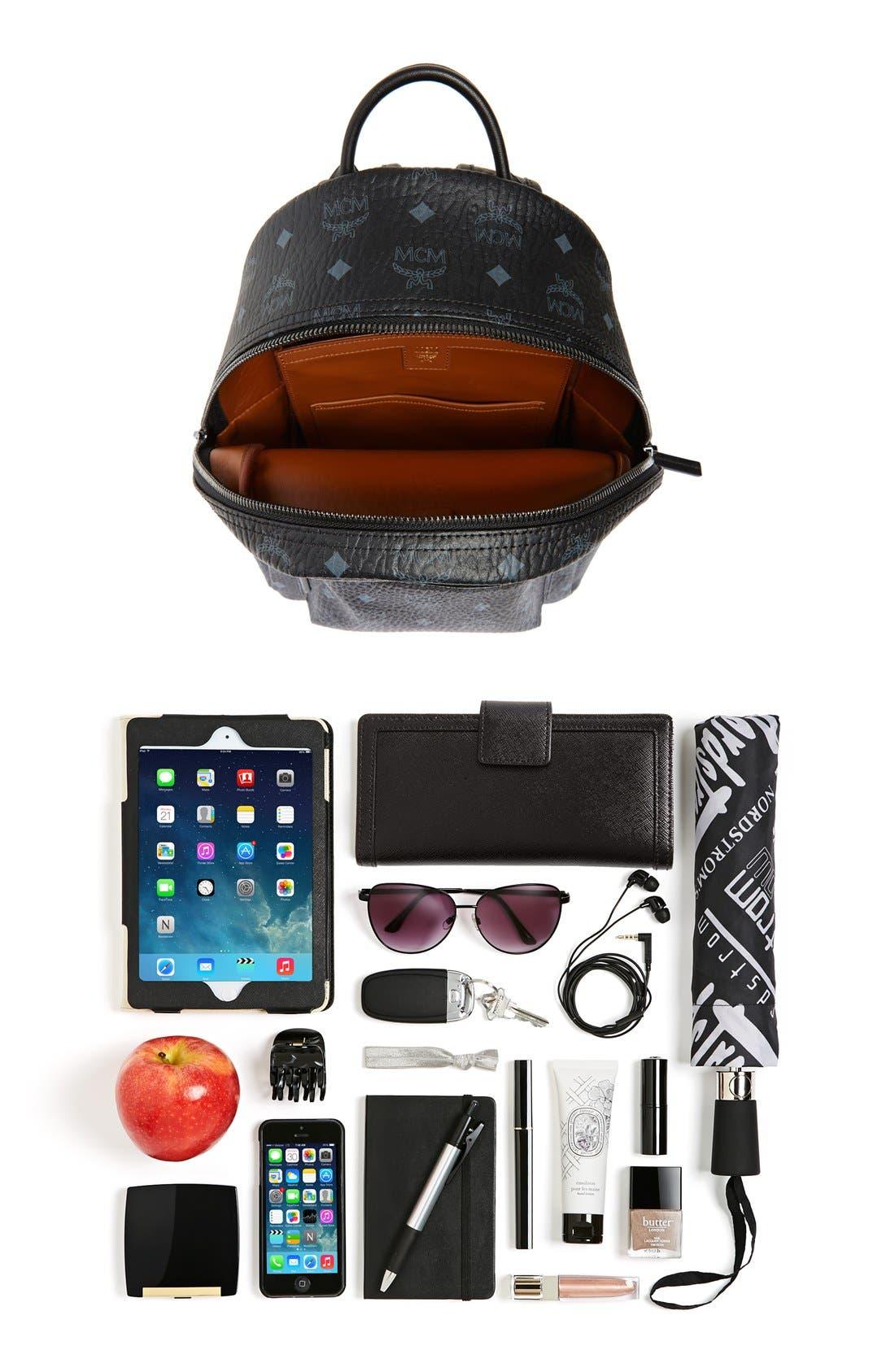 Small Stark Side Stud Backpack,                             Alternate thumbnail 6, color,                             001
