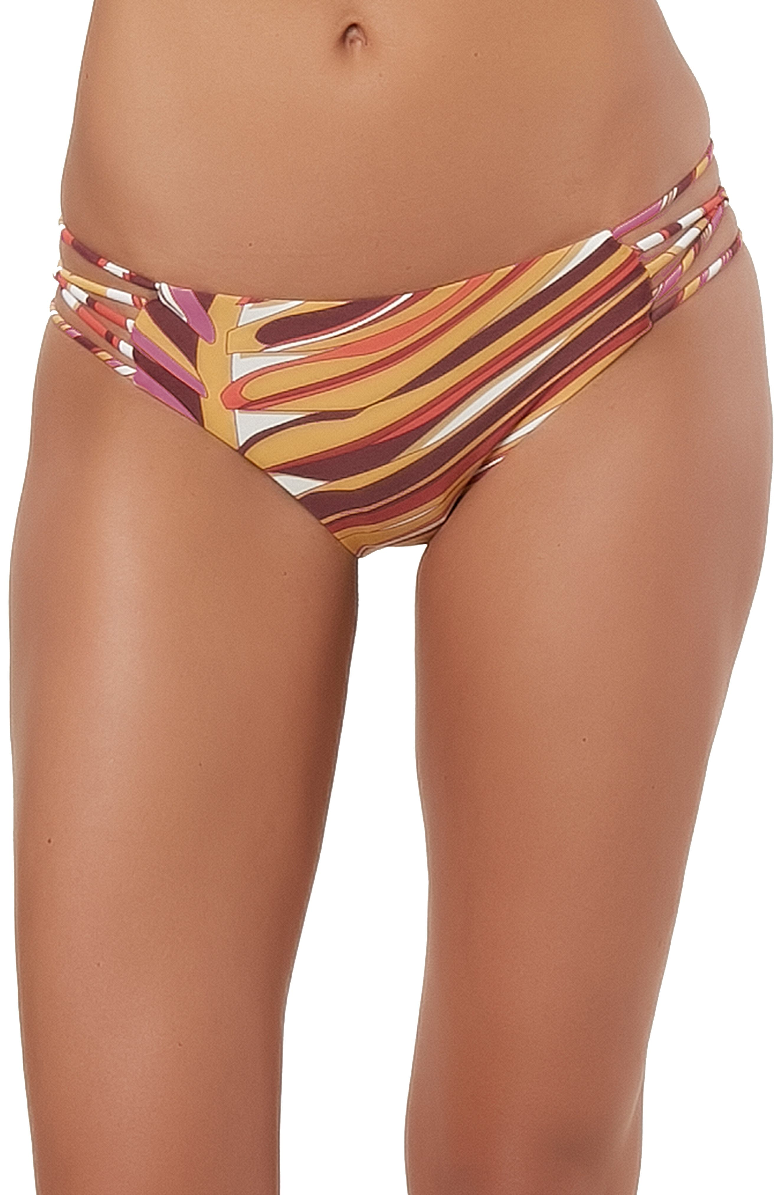Anacapa Strappy Hipster Bikini Bottoms,                             Main thumbnail 1, color,                             PURPLE MAUVE