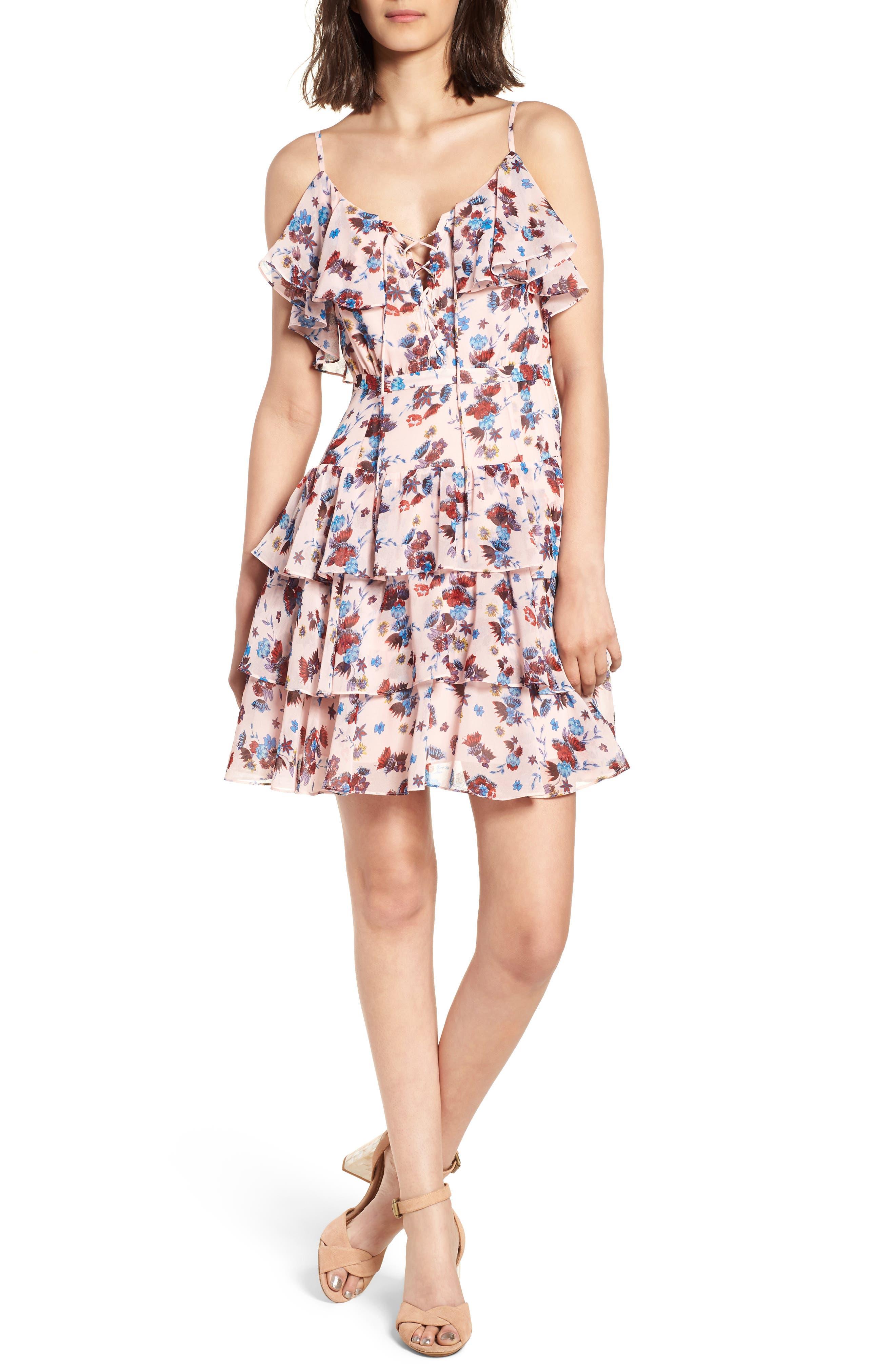 Marla Dress,                             Main thumbnail 1, color,                             671