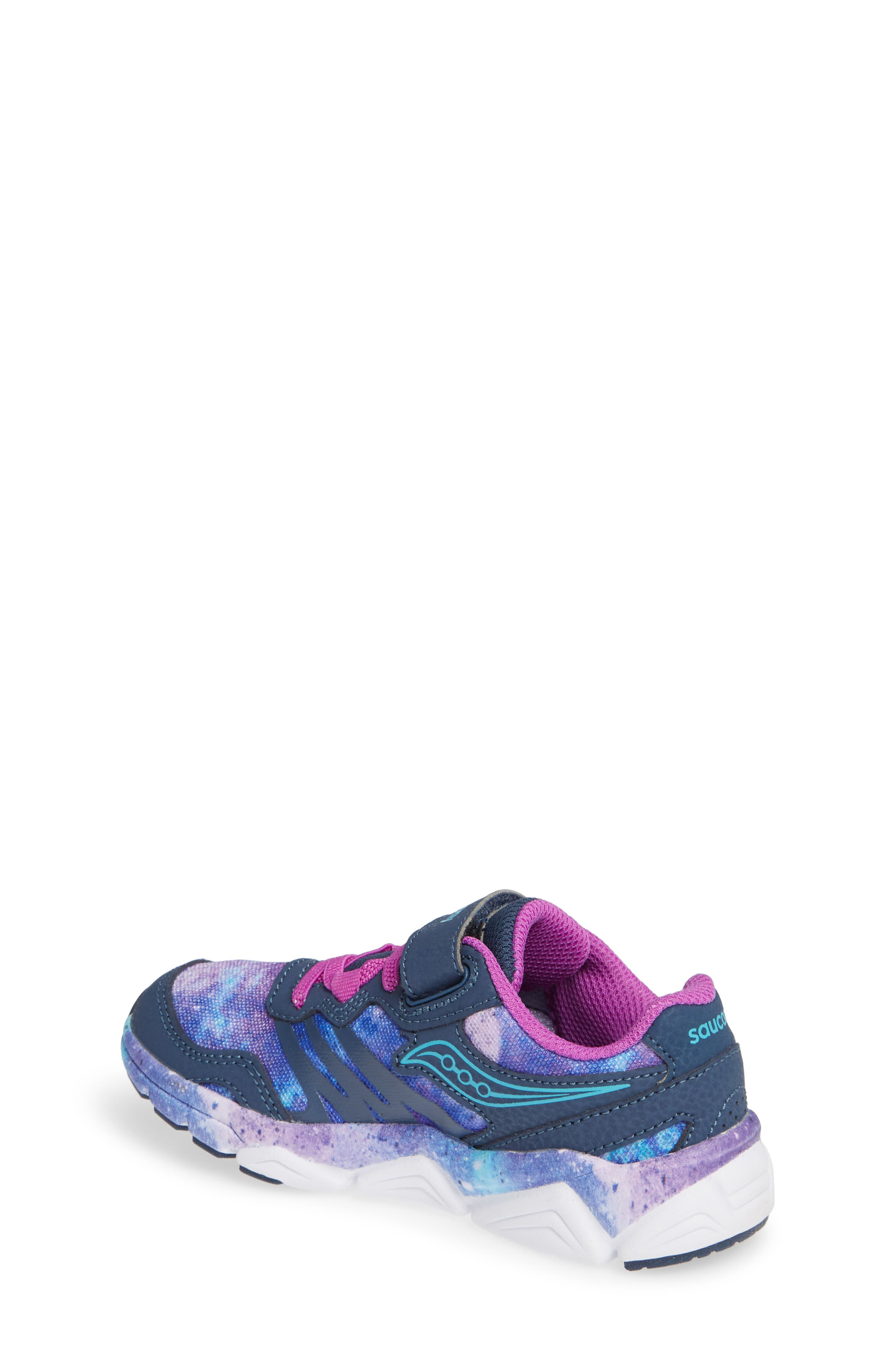 Kotaro Flash Sneaker,                             Alternate thumbnail 2, color,                             PURPLE LEATHER/ MESH