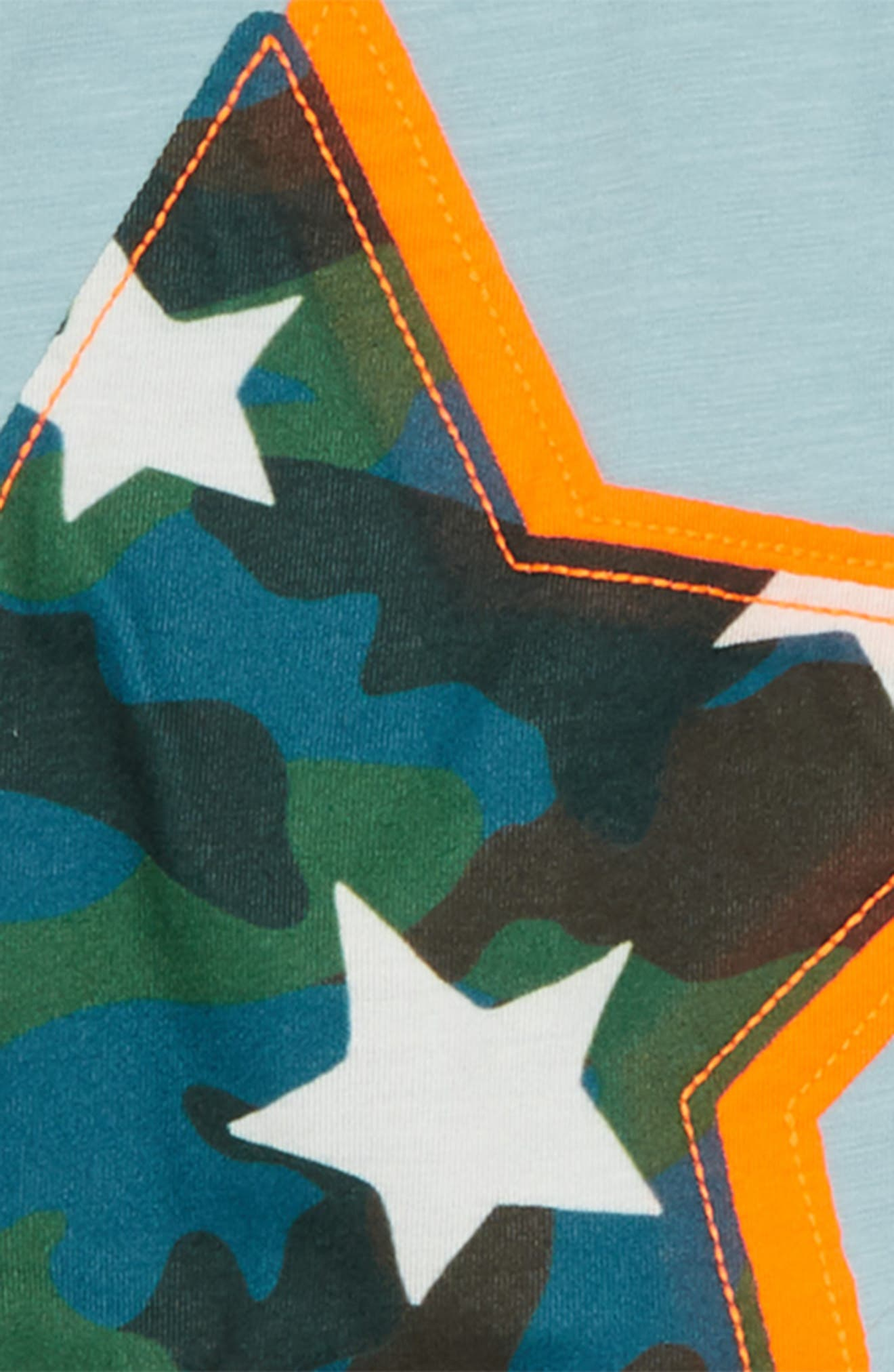 Star Appliqué T-Shirt,                             Alternate thumbnail 2, color,                             454