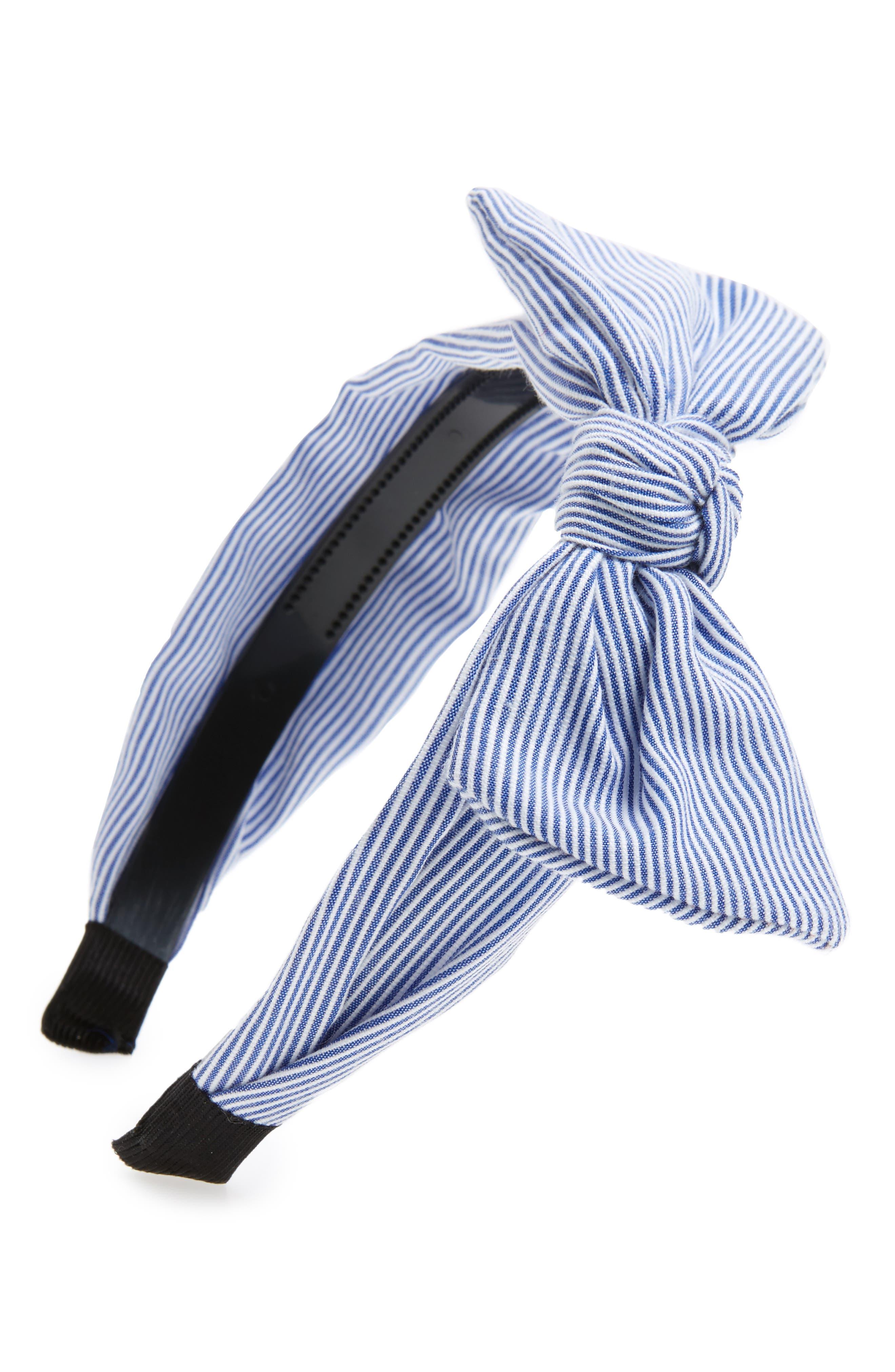 CARA,                             Stripe Headband,                             Main thumbnail 1, color,                             400