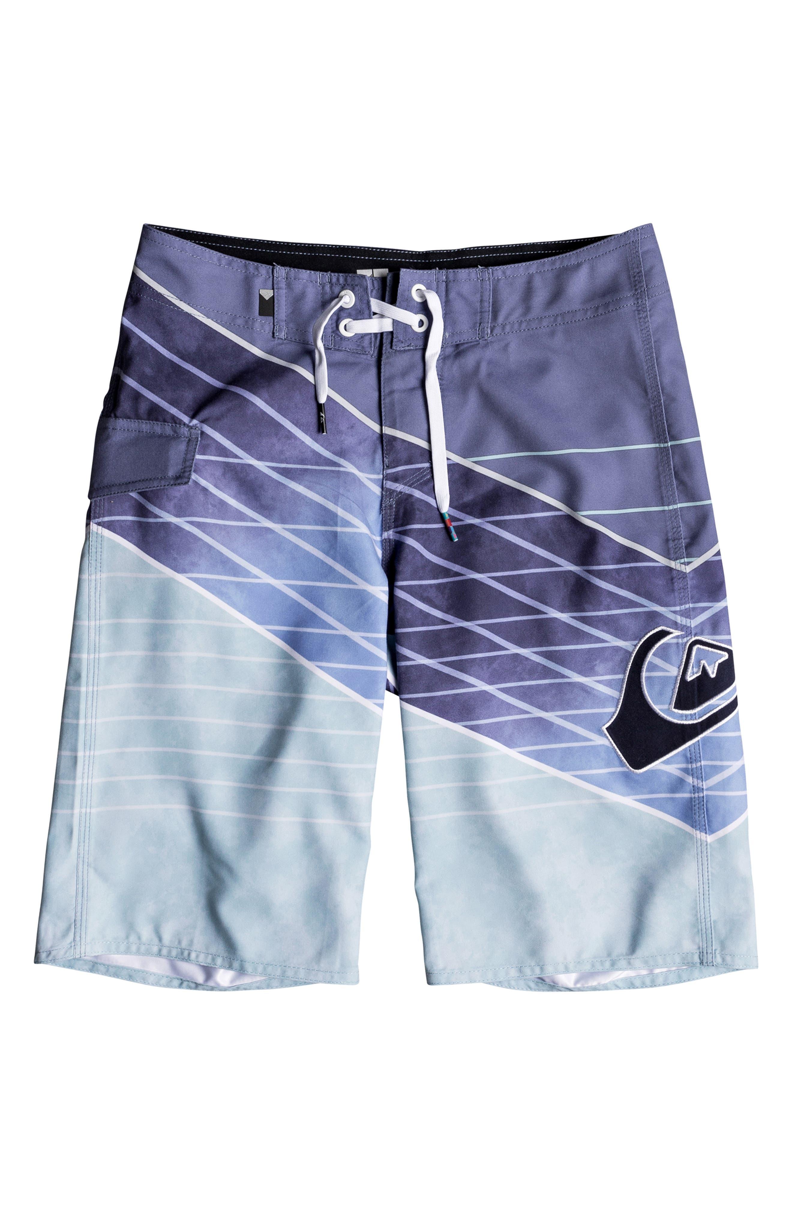Slash Board Shorts, Main, color, AQUATIC