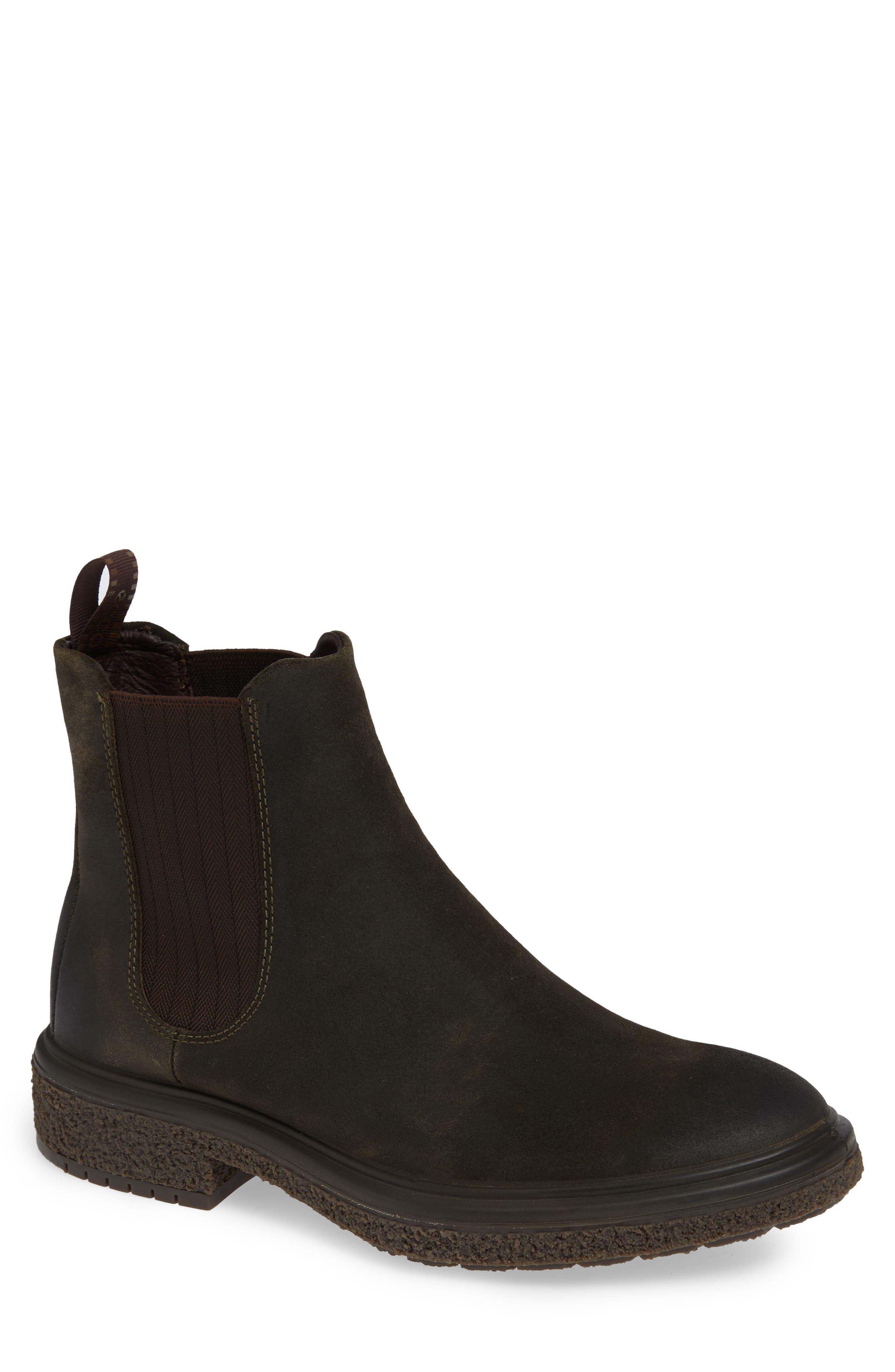 Crepetray Chelsea Boot,                         Main,                         color, TARMAC SUEDE
