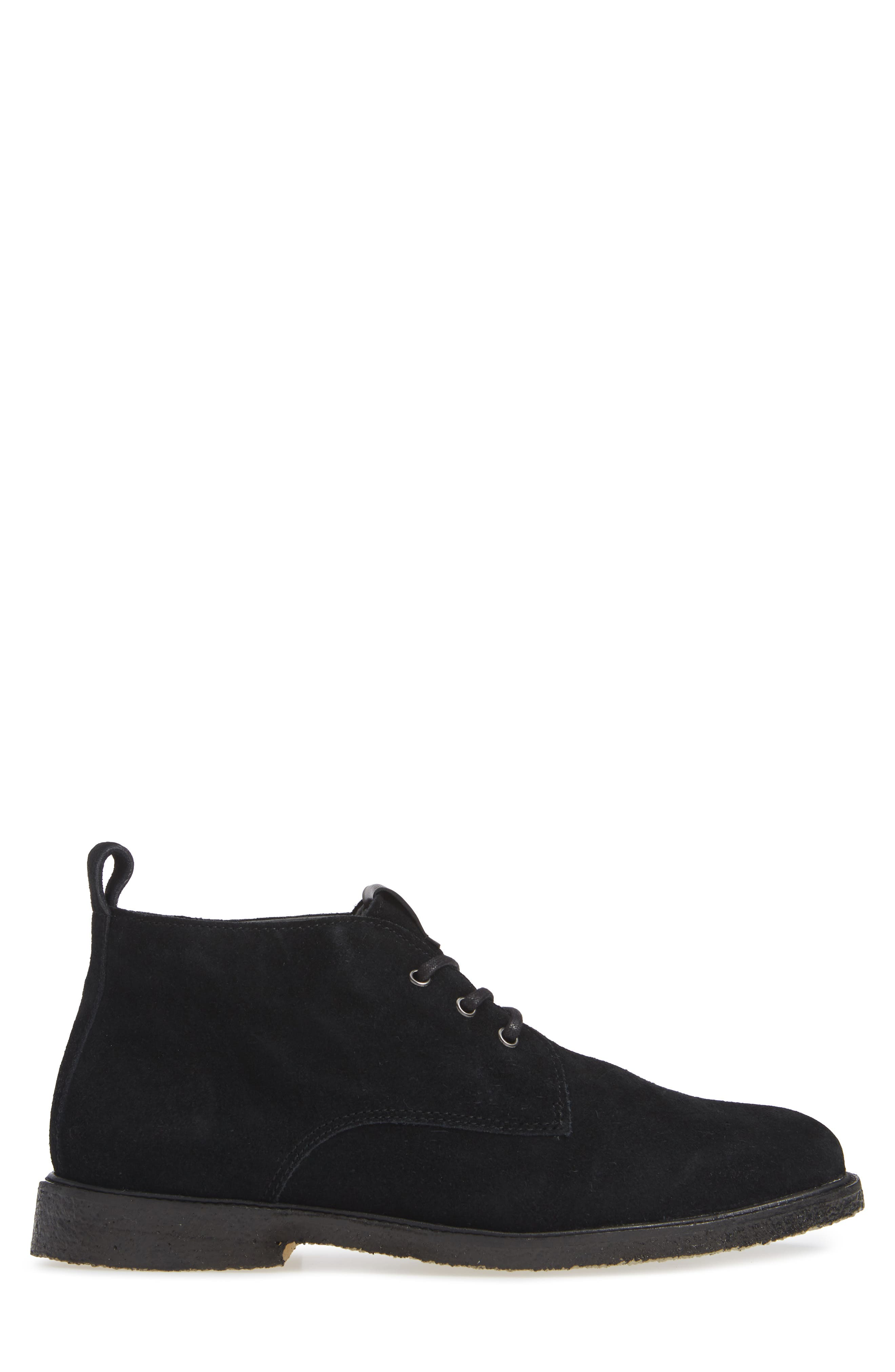 QM82 Chukka Boot,                             Alternate thumbnail 3, color,                             BLACK