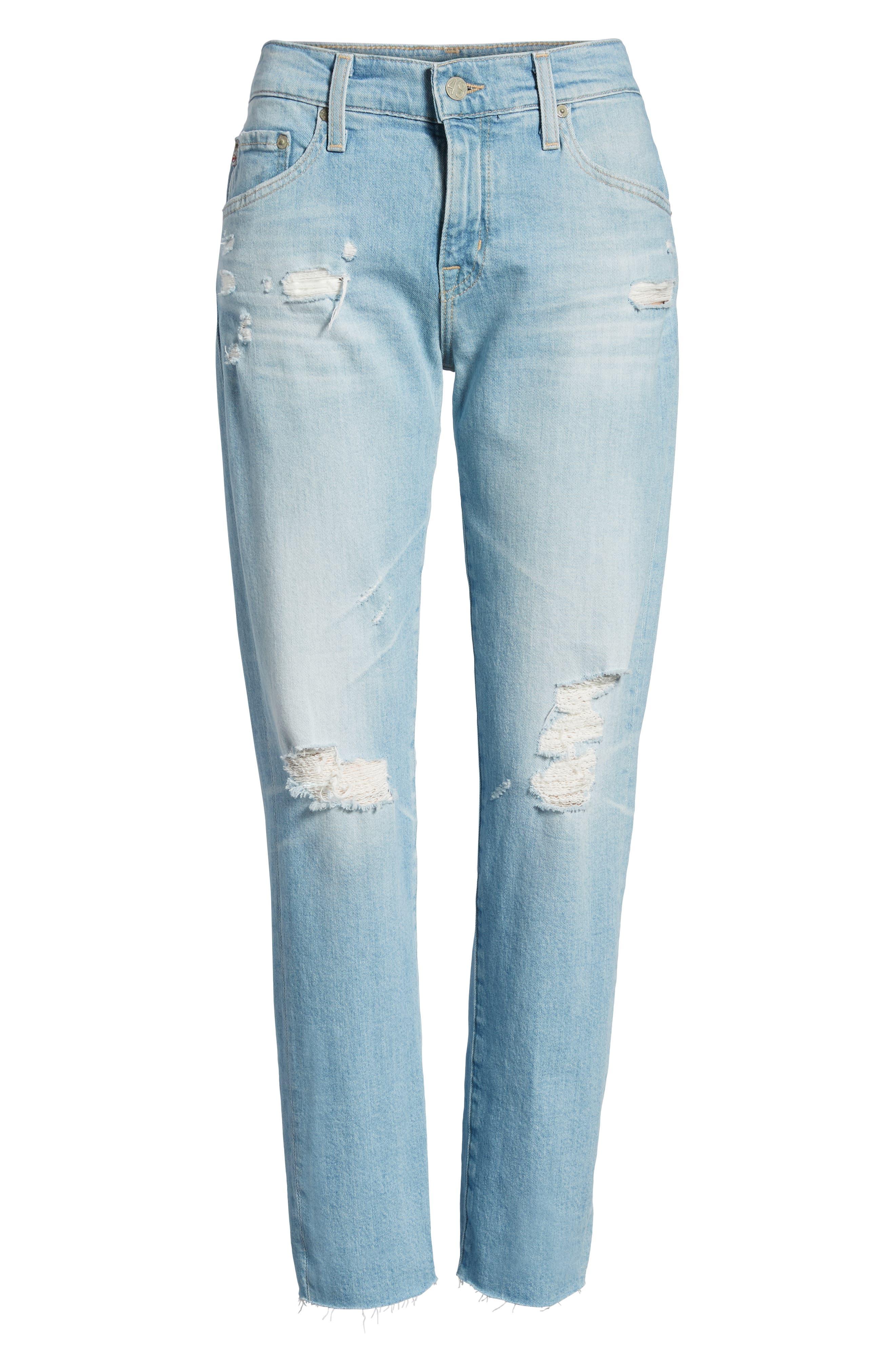 The Ex-Boyfriend Crop Slim Jeans,                             Alternate thumbnail 7, color,                             426