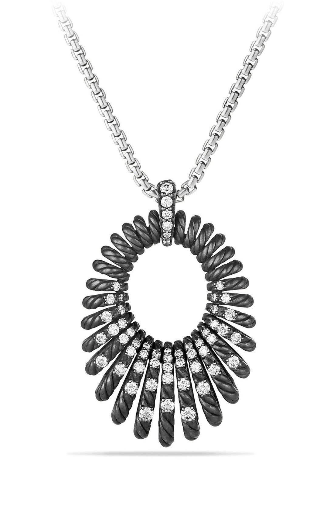 'Tempo' Necklace with Diamonds,                         Main,                         color, DIAMOND