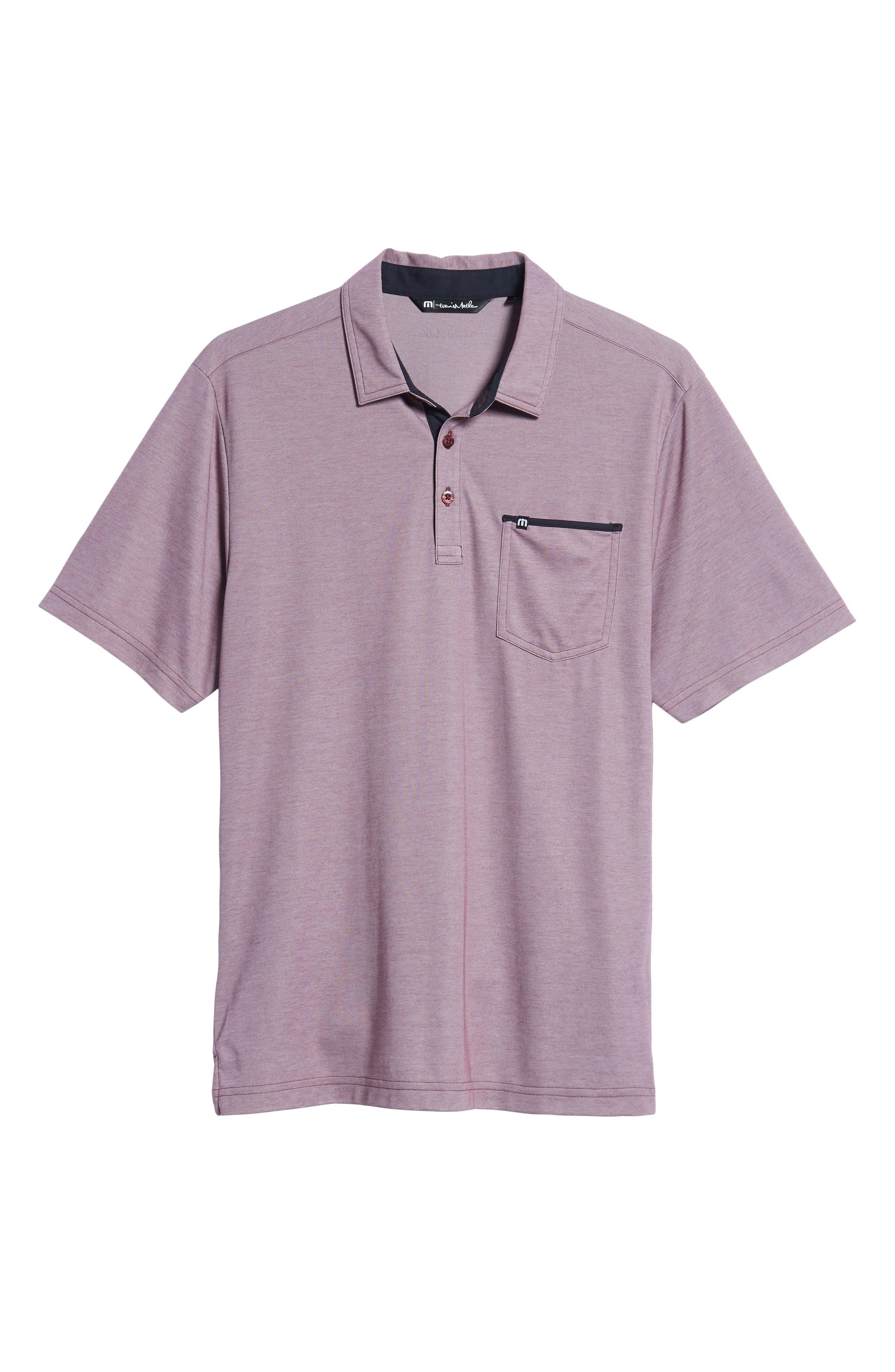 TRAVIS MATHEW,                             Tonk Regular Fit Polo Shirt,                             Alternate thumbnail 6, color,                             600