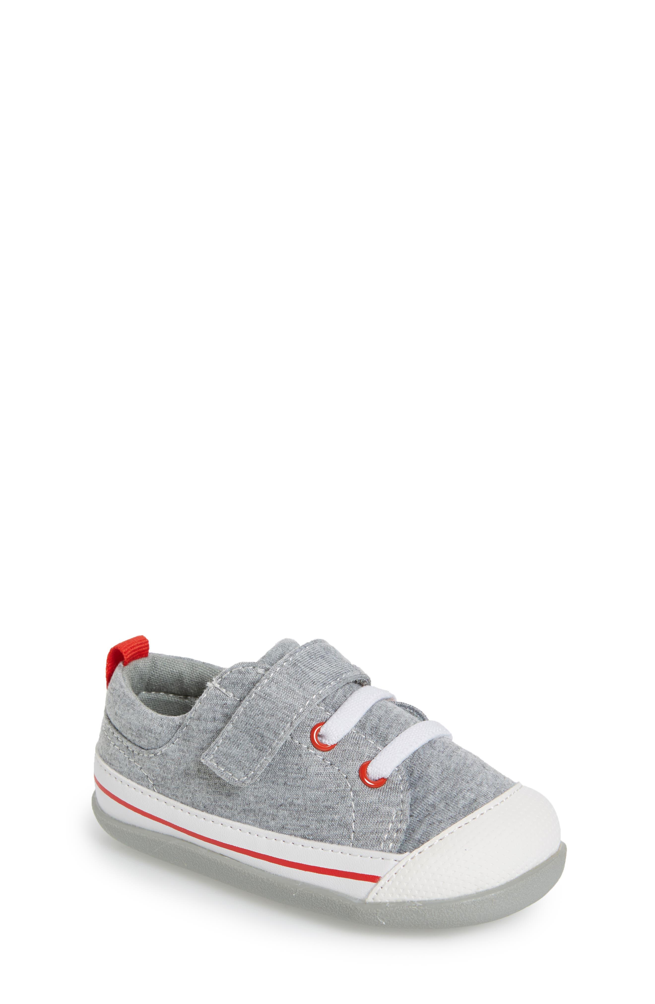 Stevie II Sneaker,                         Main,                         color, GREY JERSEY