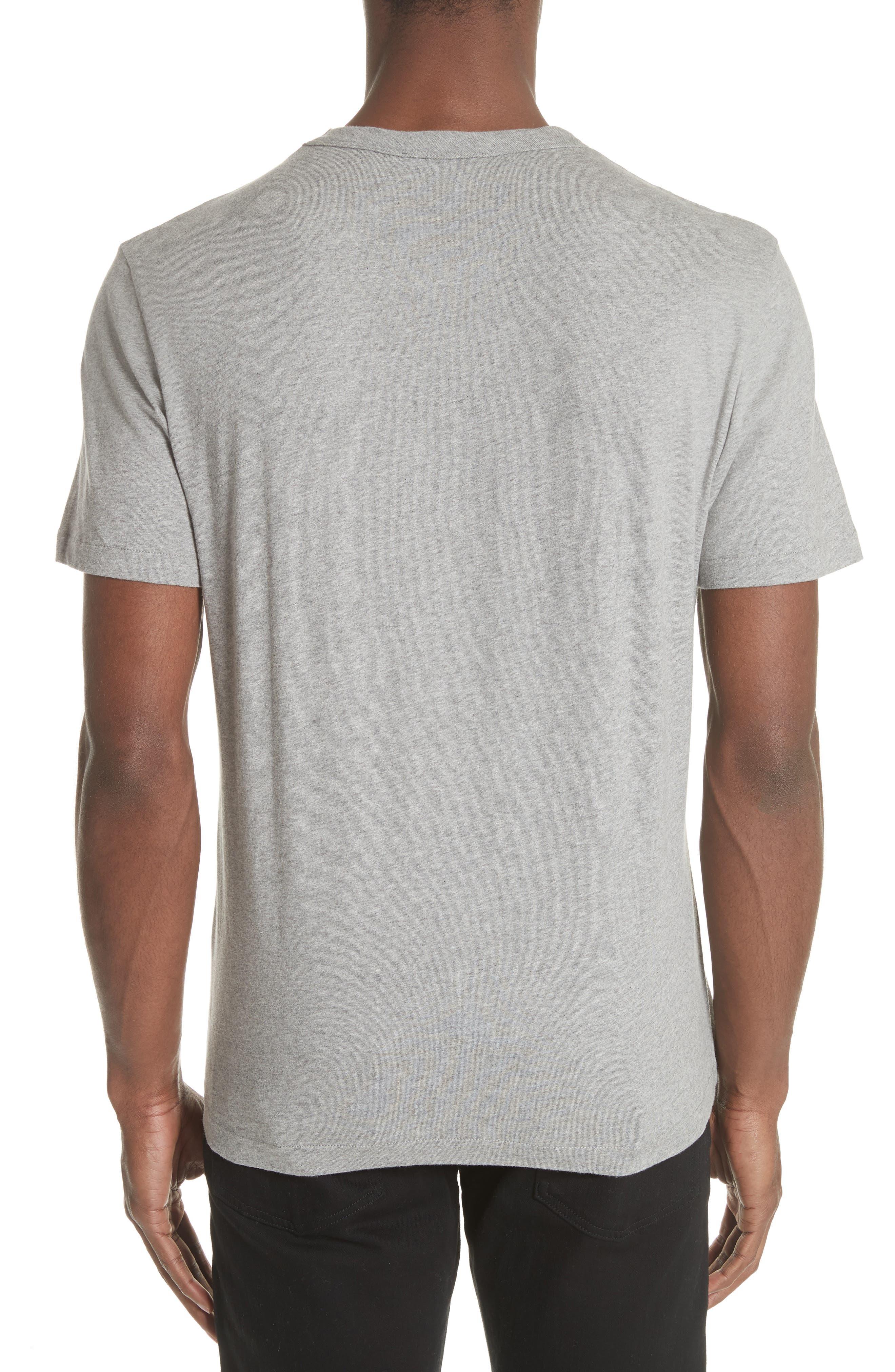 Perfect T-Shirt,                             Alternate thumbnail 2, color,                             GREY MELANGE