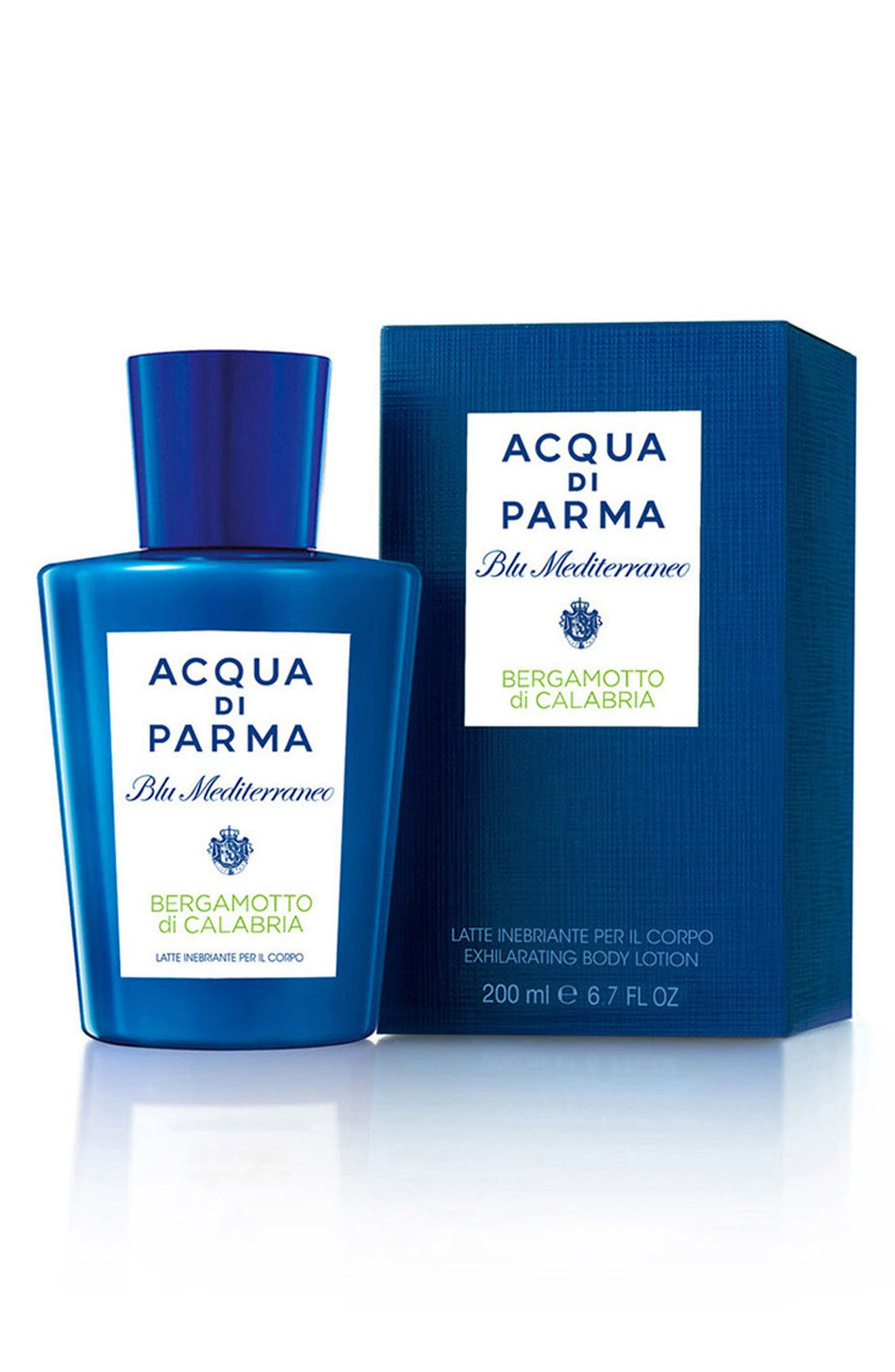 'Blu Mediterraneo' Bergamotto di Calabria Body Lotion,                             Alternate thumbnail 2, color,