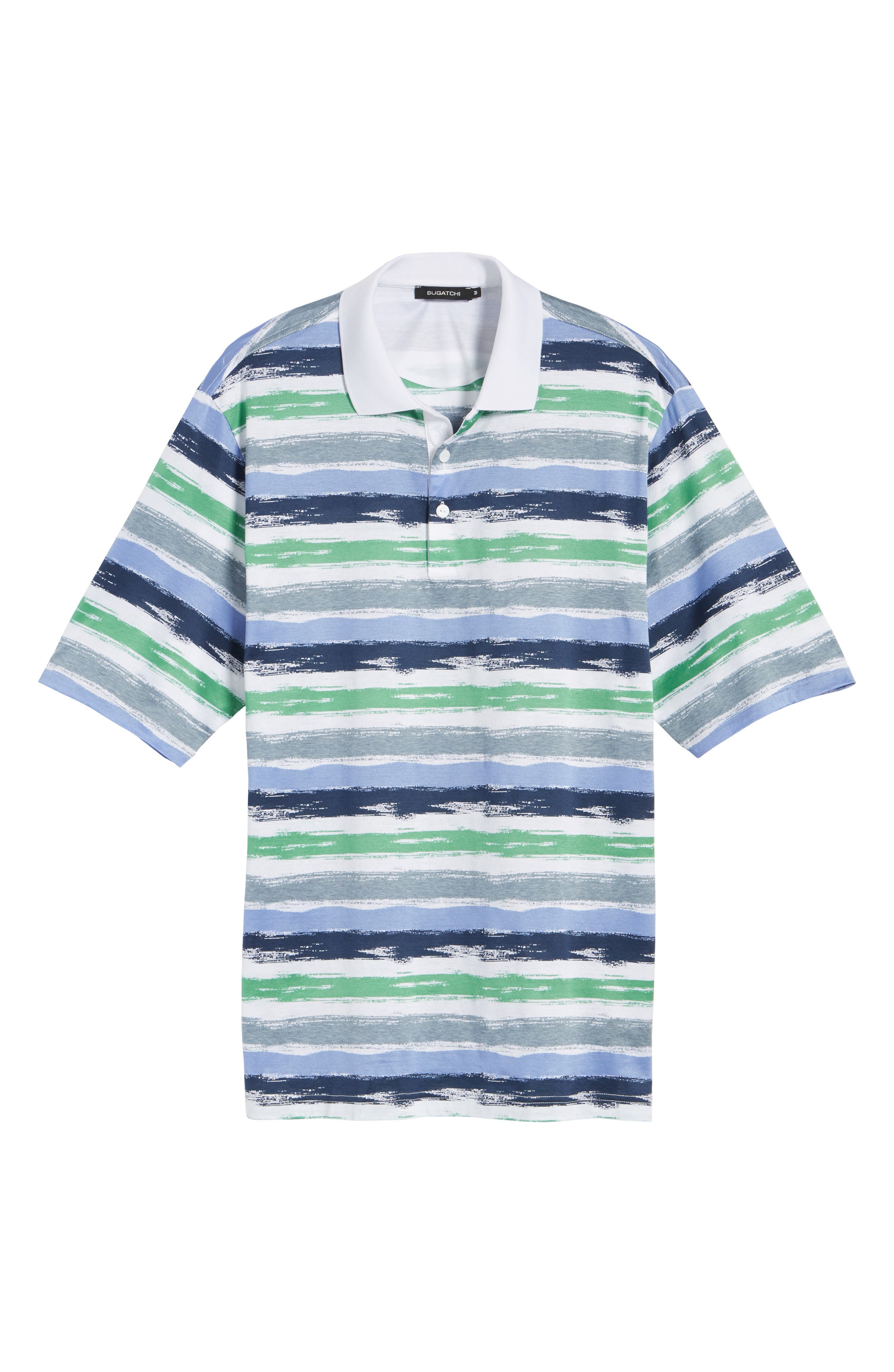 Brushstroke Stripe Polo,                             Alternate thumbnail 6, color,                             329