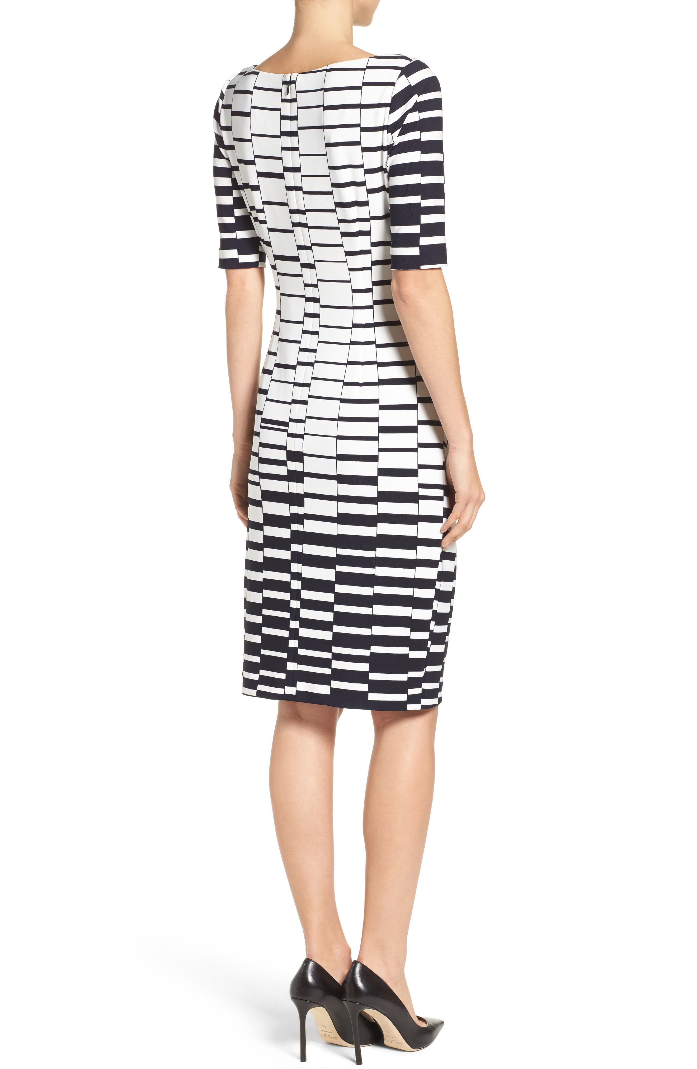 Ruched Body-Con Dress,                             Alternate thumbnail 2, color,                             900