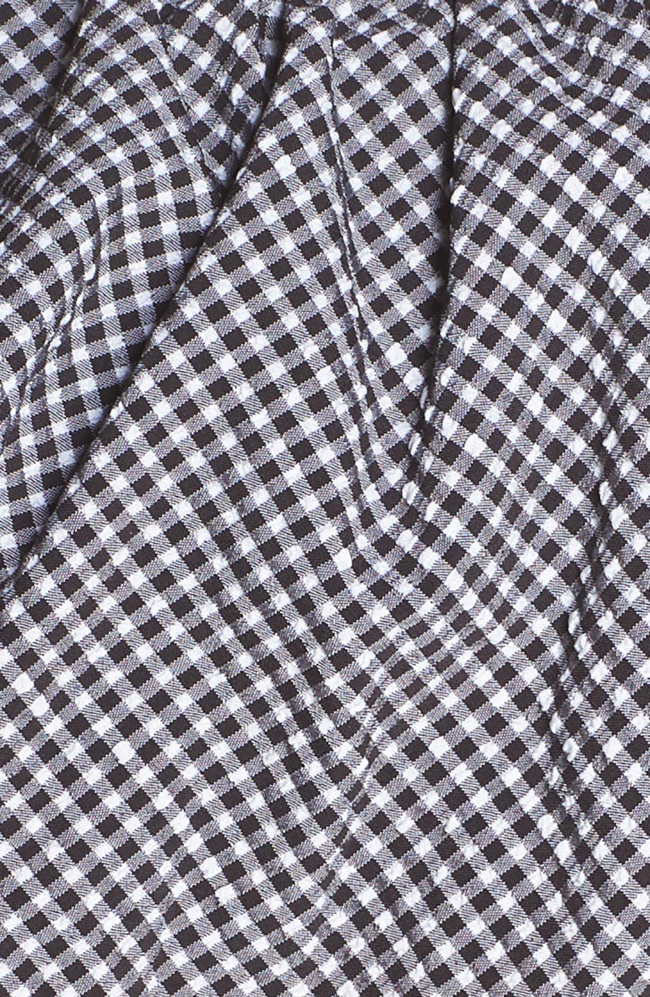 Ruffle Bandeau Bikini Top,                             Alternate thumbnail 6, color,                             003
