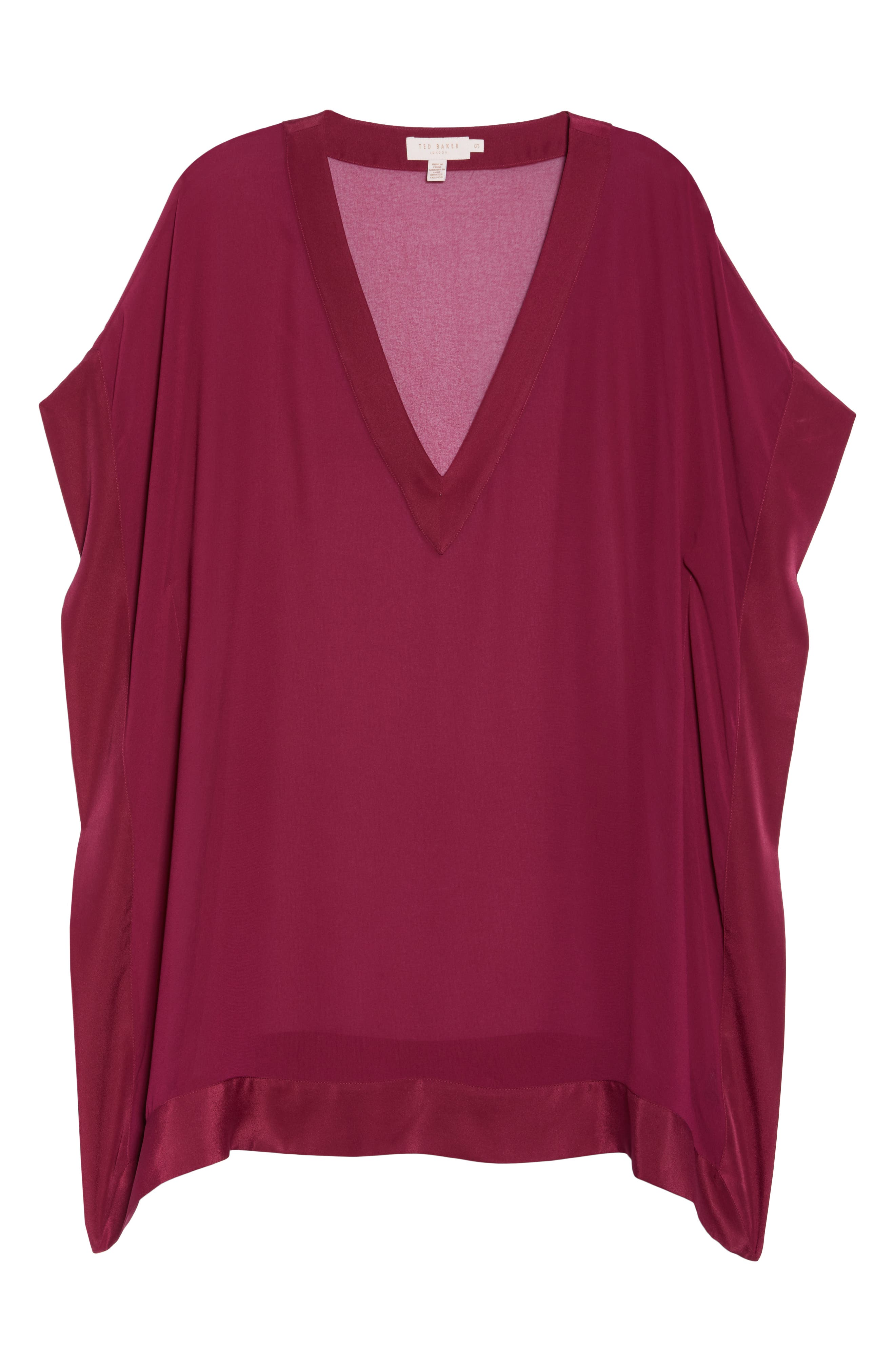 Holical Cover-Up Tunic,                             Alternate thumbnail 6, color,                             DEEP PINK