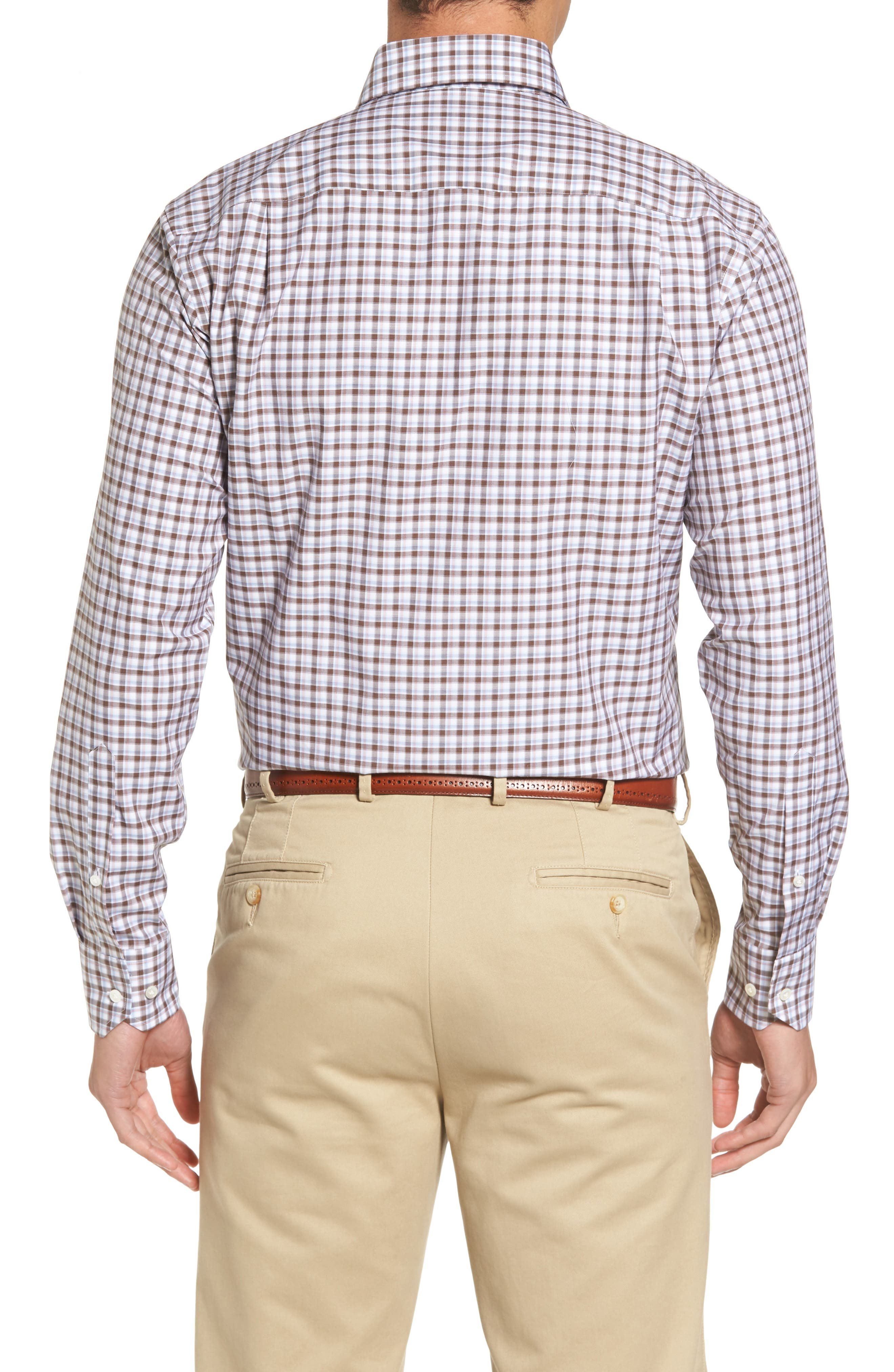 Peter Millar Northern Lights Regular Fit Check Sport Shirt,                             Alternate thumbnail 2, color,                             203