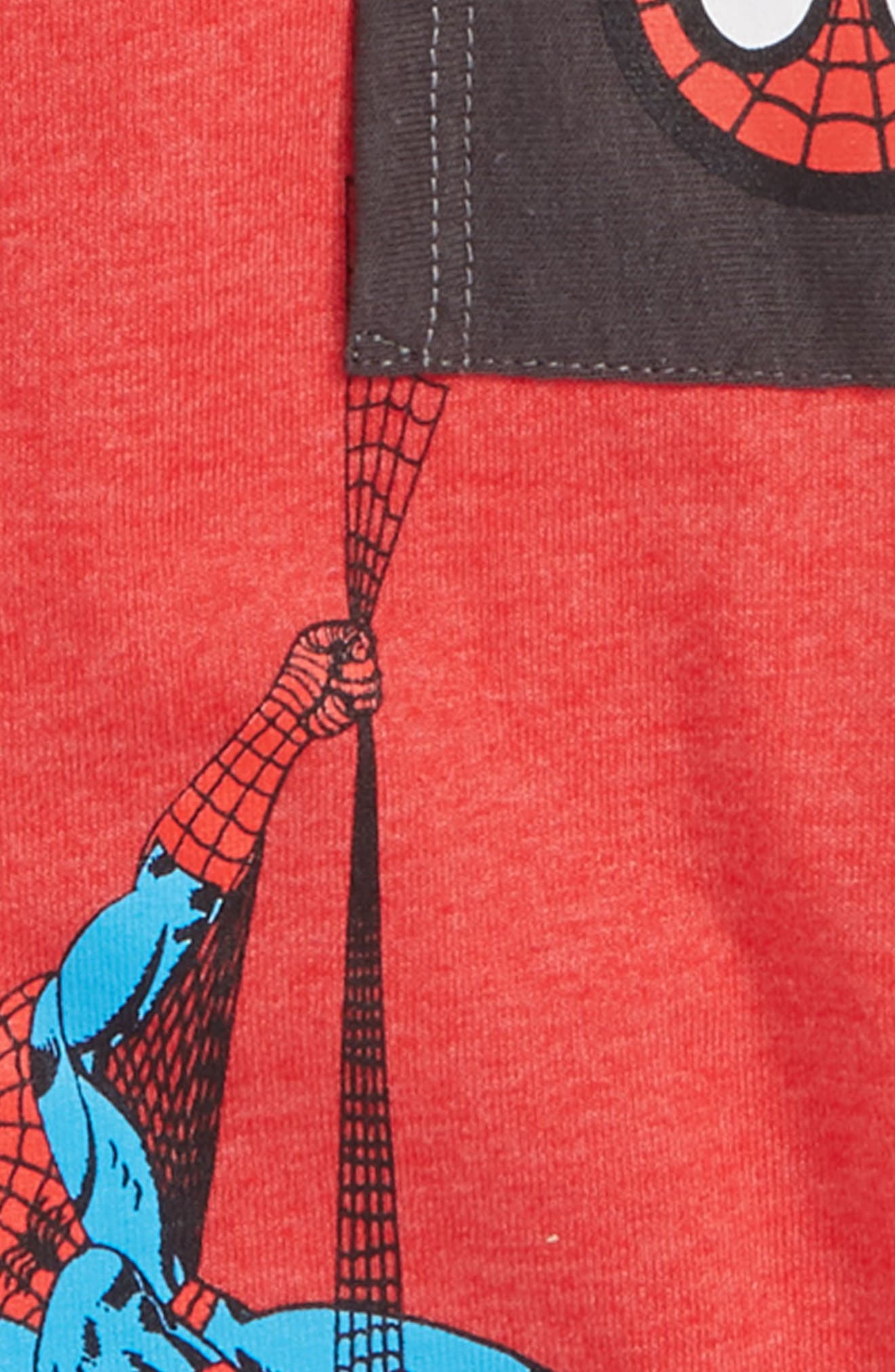 Spiderman Graphic T-Shirt,                             Alternate thumbnail 2, color,                             617
