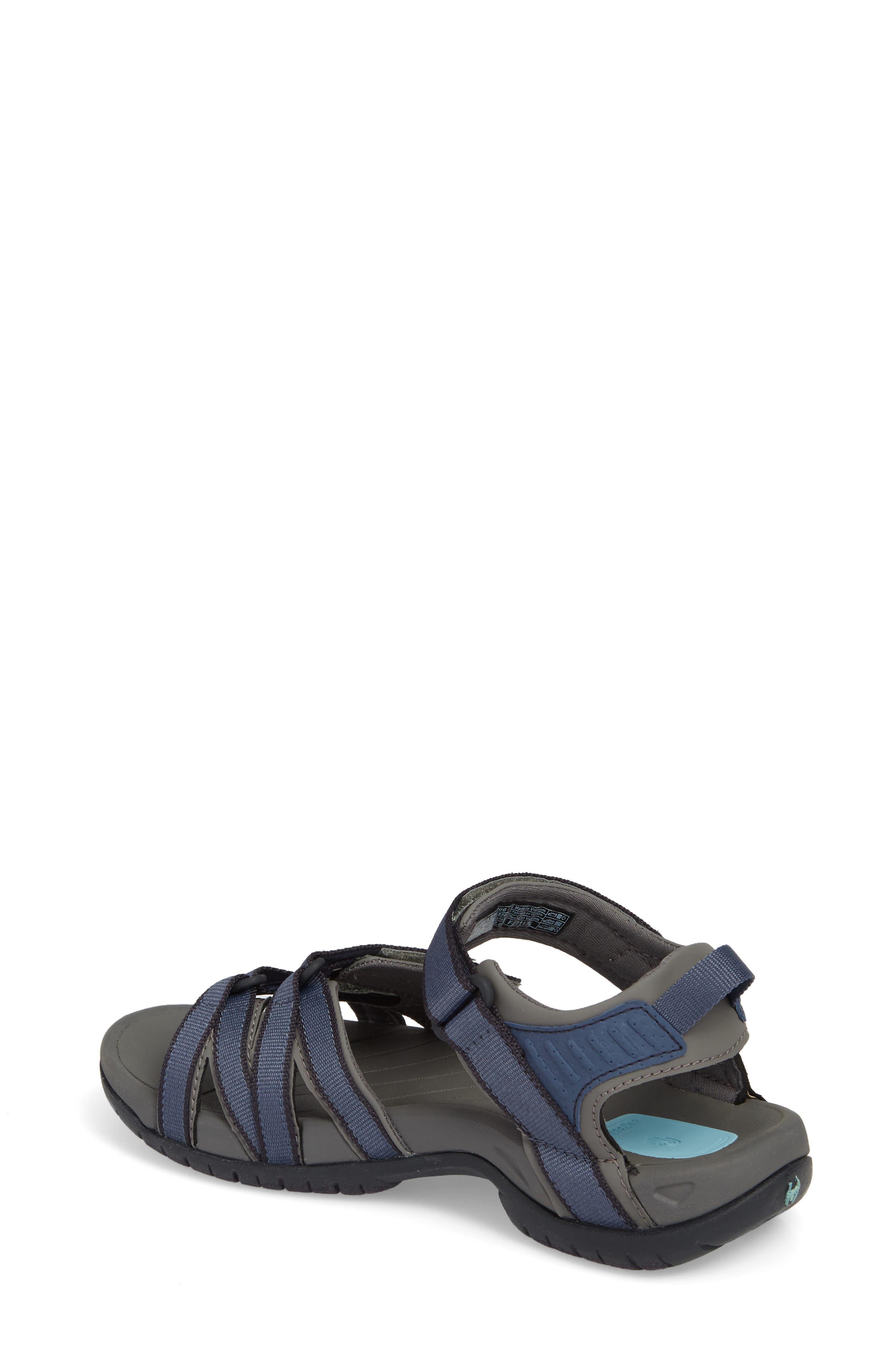 'Tirra' Sandal,                             Alternate thumbnail 2, color,                             BERING SEA