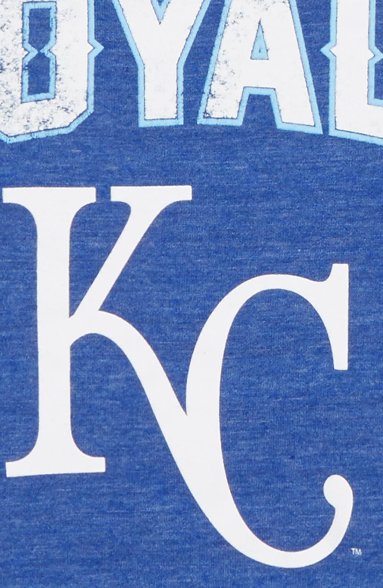 Kansas City Royals Triple Play T-Shirt,                             Alternate thumbnail 2, color,                             461