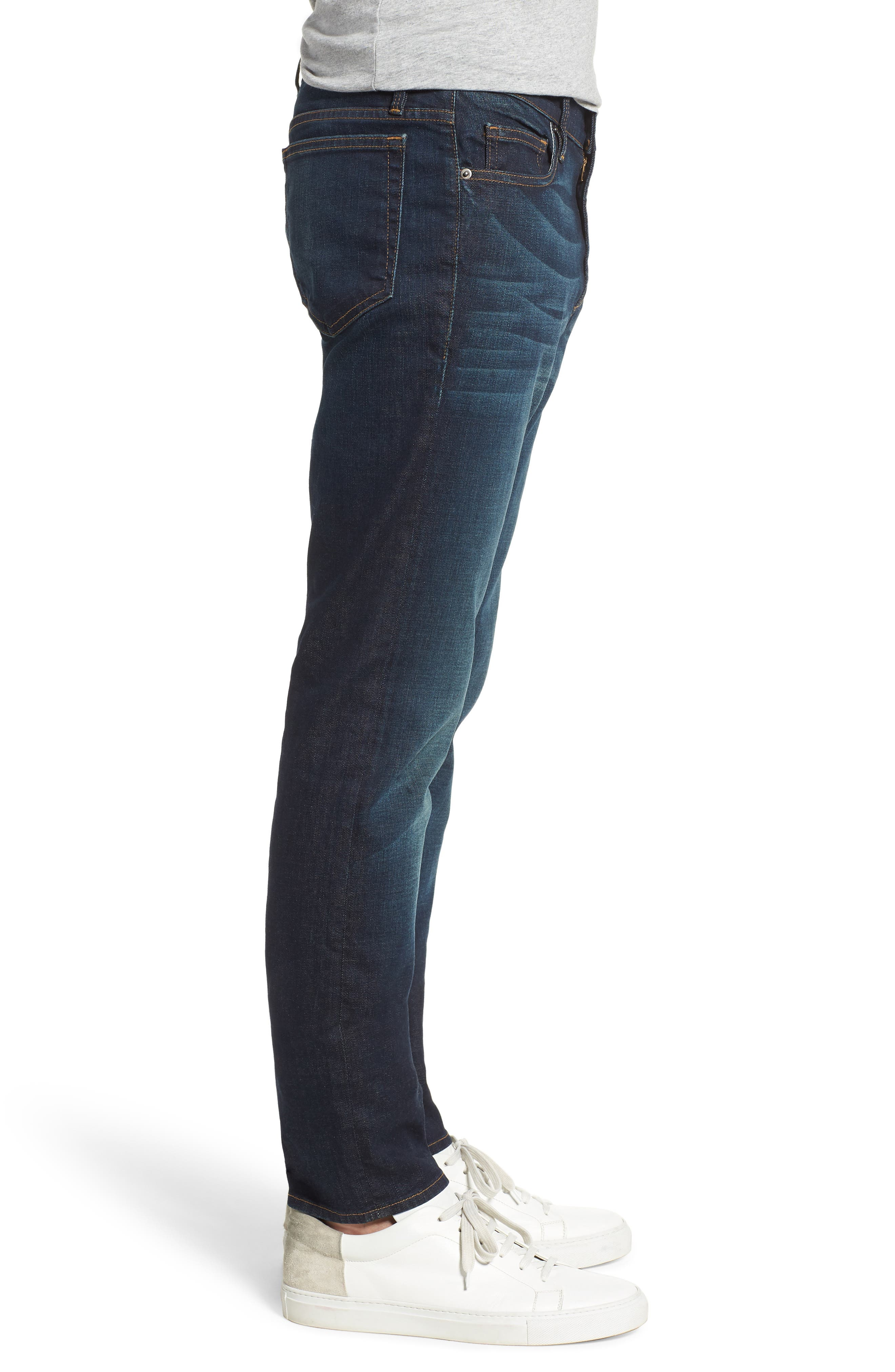 L'Homme Skinny Fit Jeans,                             Alternate thumbnail 4, color,