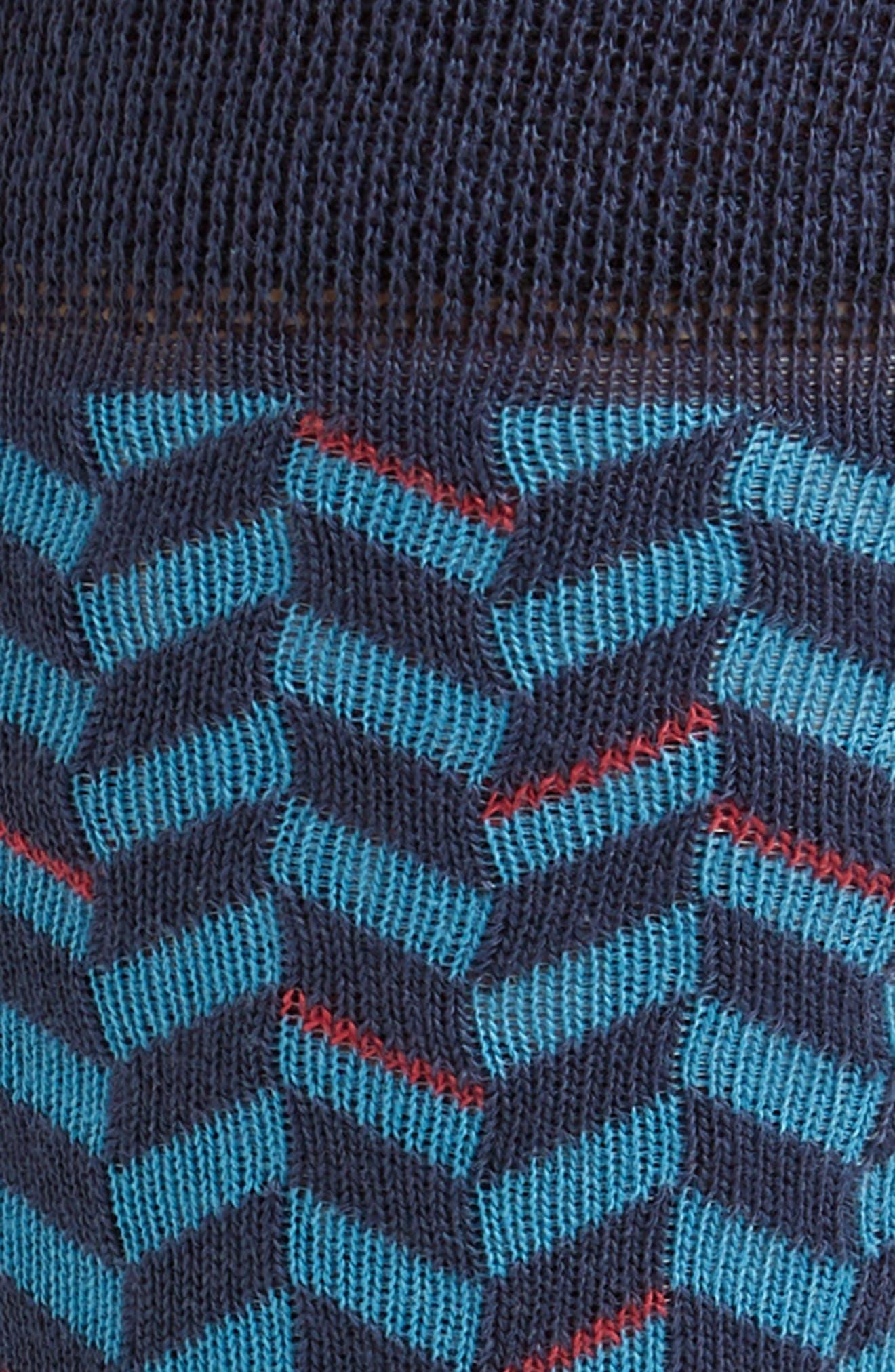 Enom Geometric Socks,                             Alternate thumbnail 2, color,                             410