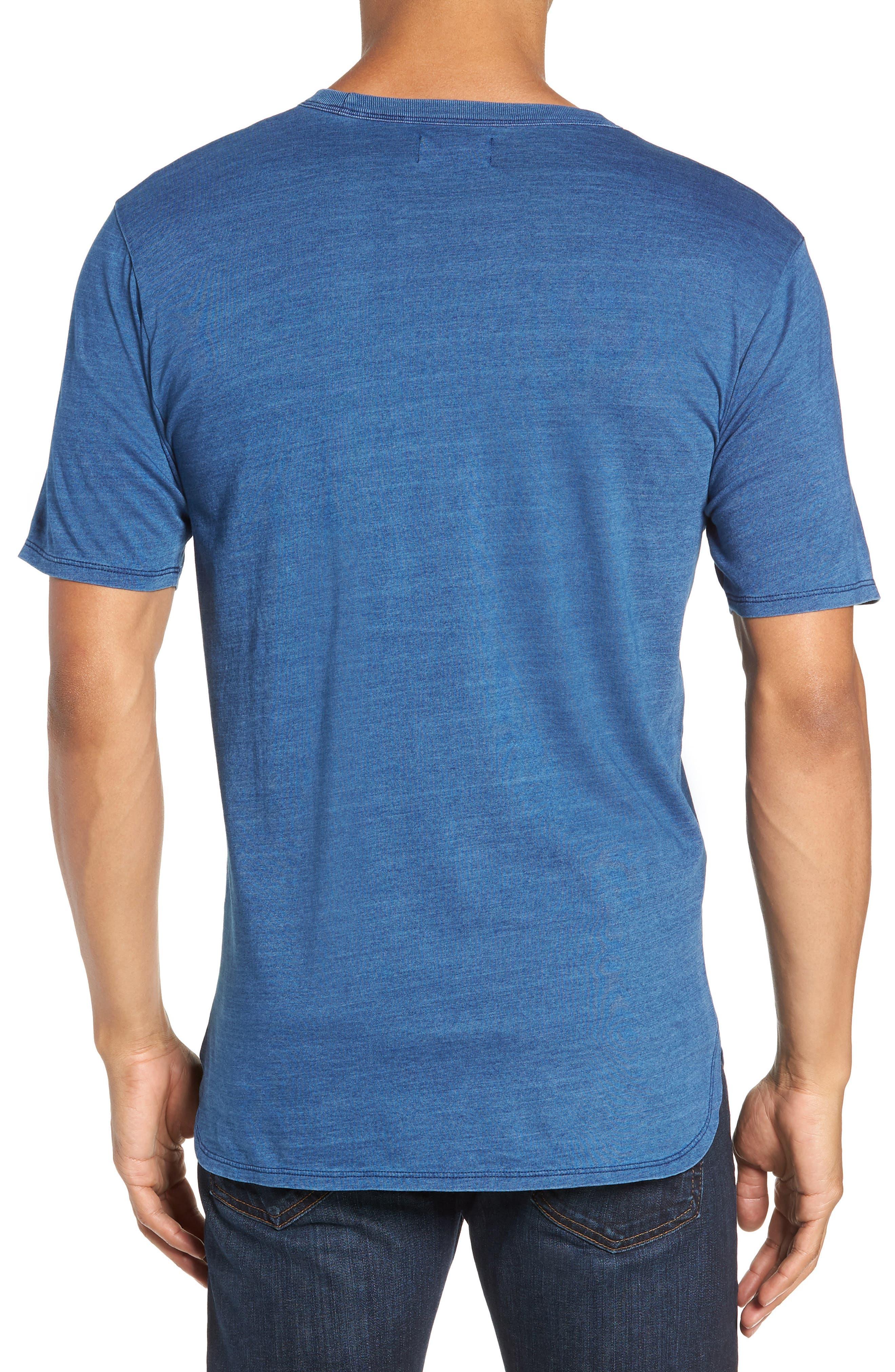 Split Hem Crewneck T-Shirt,                             Alternate thumbnail 2, color,                             432