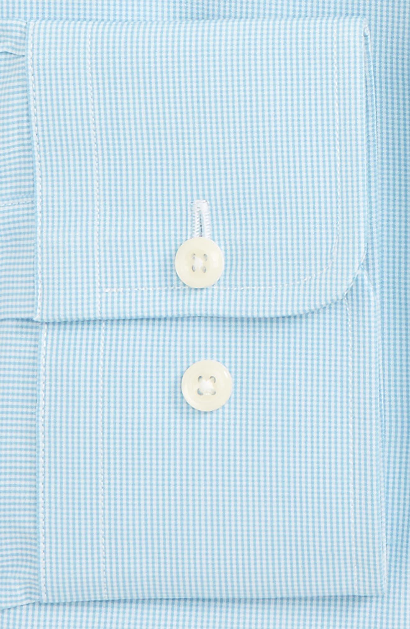 Trim Fit Check Dress Shirt,                             Alternate thumbnail 2, color,                             462