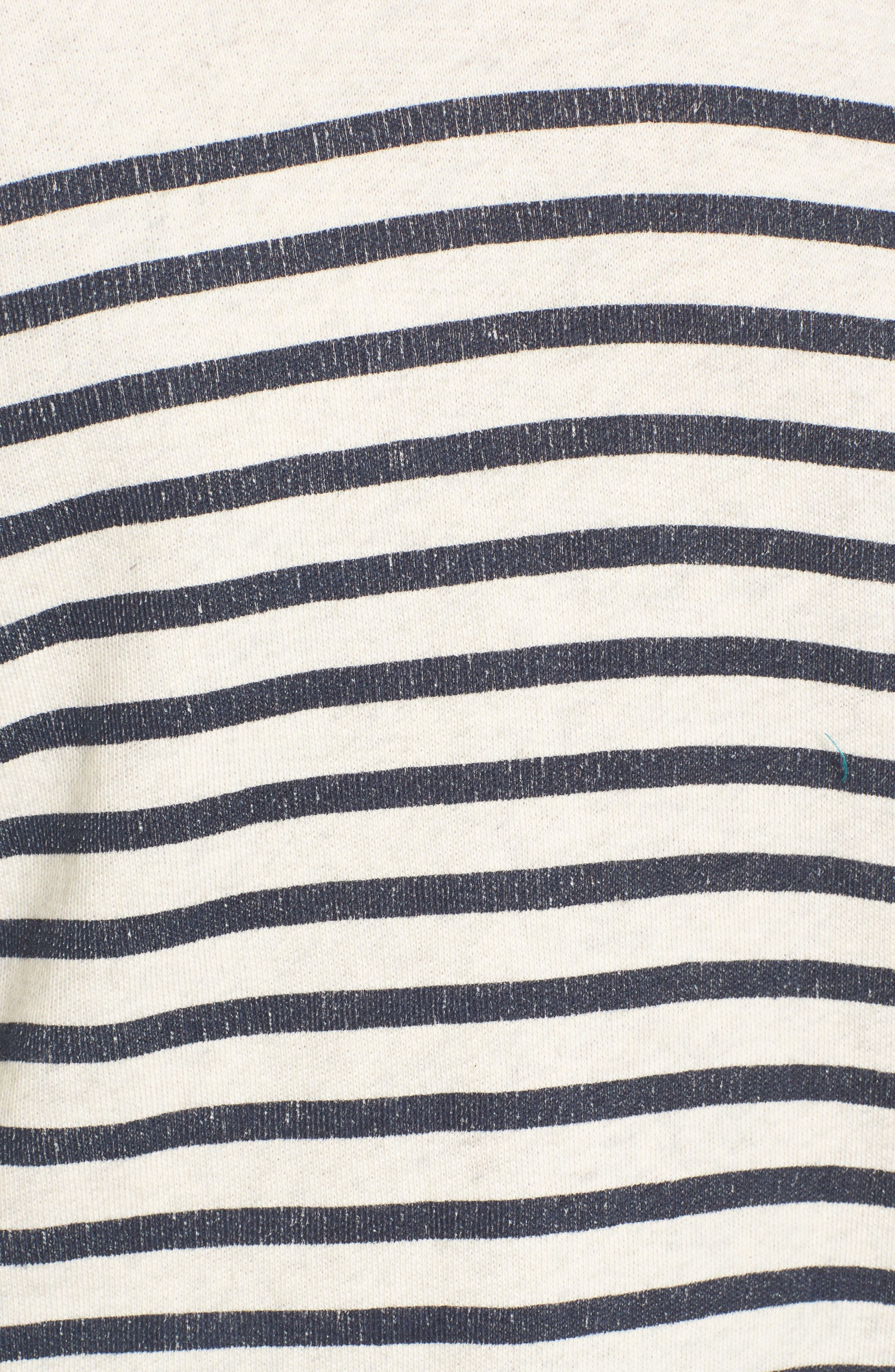 Seabrook Stripe Sweatshirt,                             Alternate thumbnail 5, color,                             909