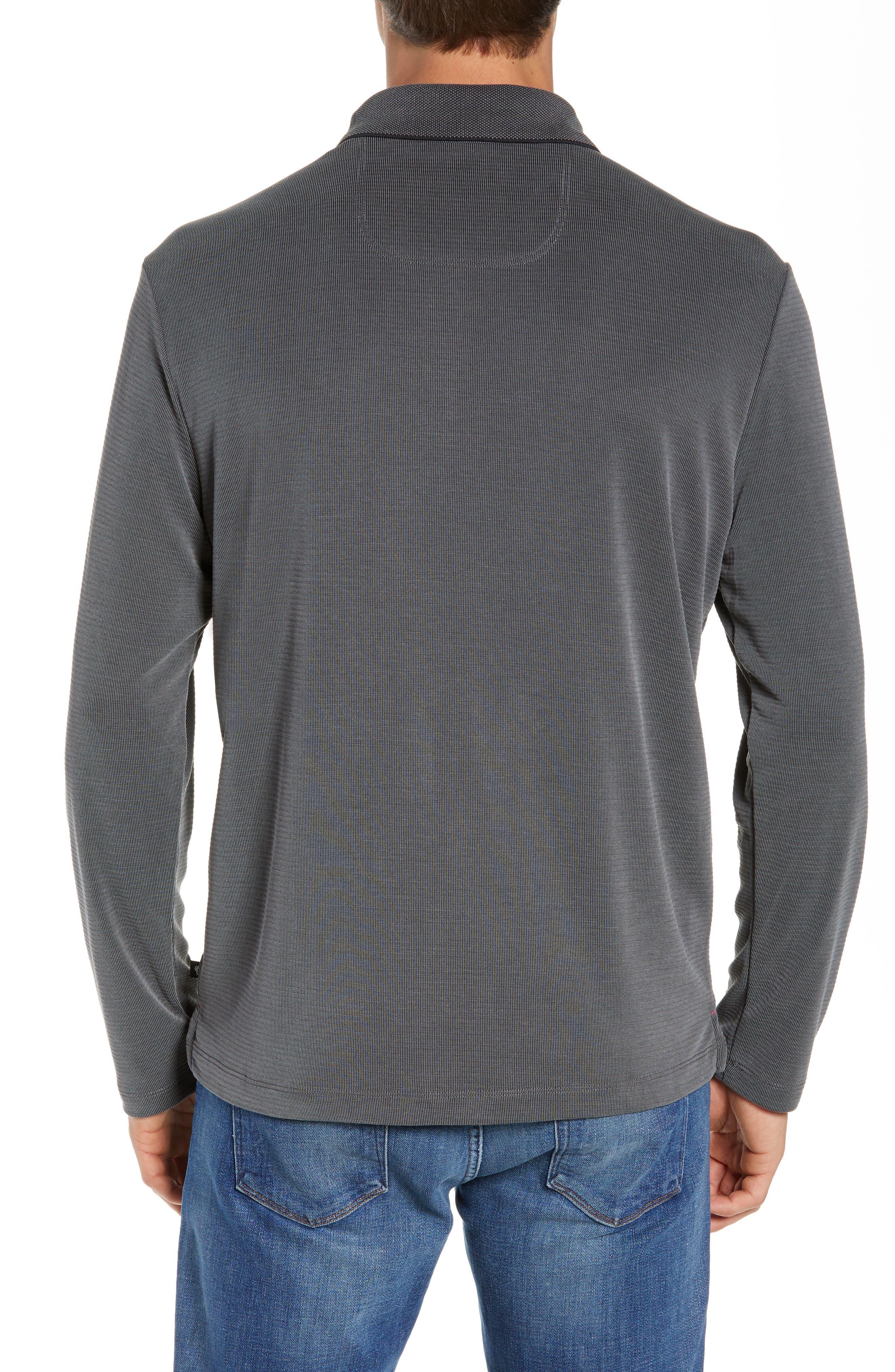Coastal Crest Regular Fit Polo,                             Alternate thumbnail 2, color,                             BLACK