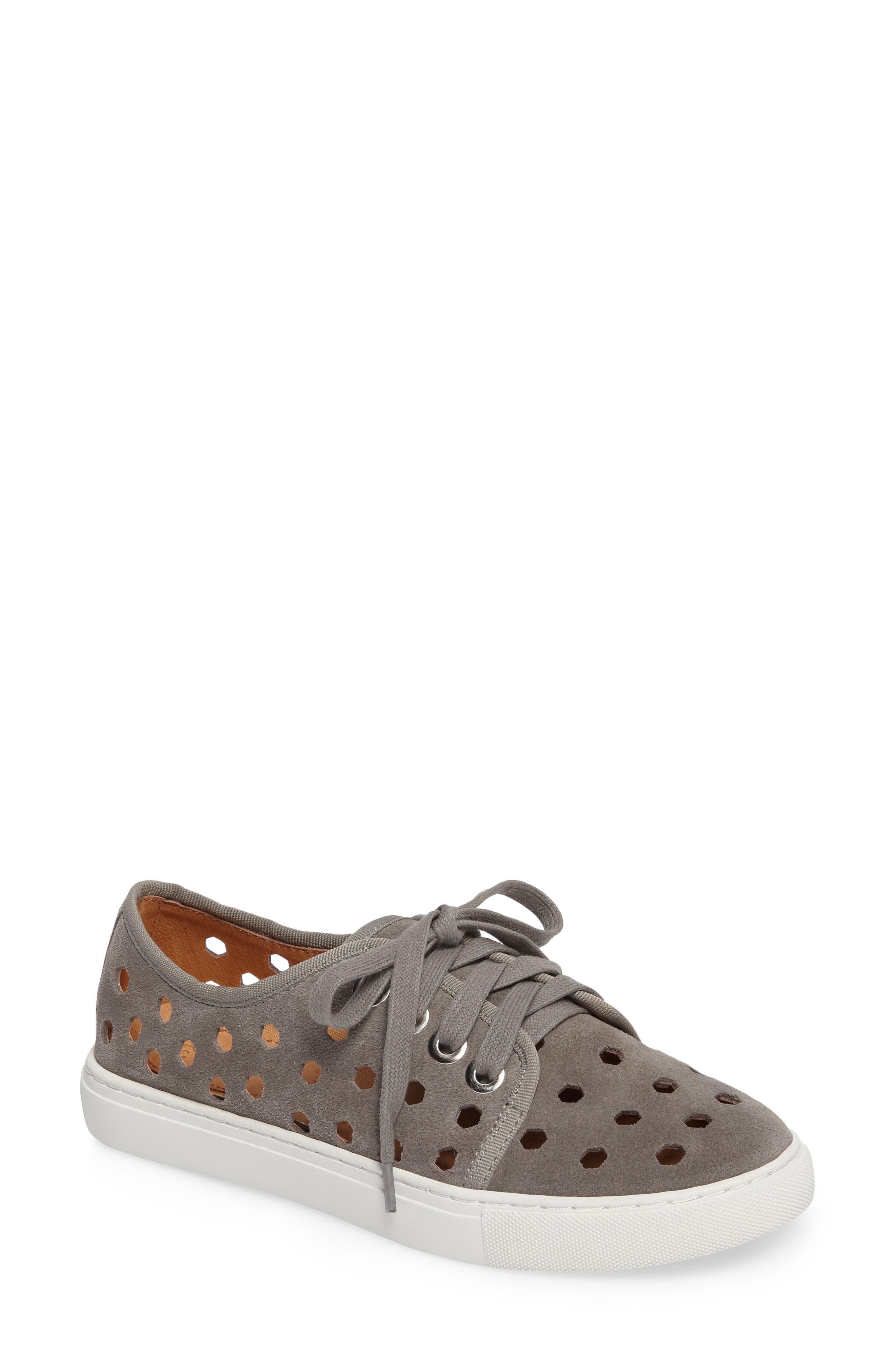 Rasta Perforated Sneaker,                             Main thumbnail 2, color,