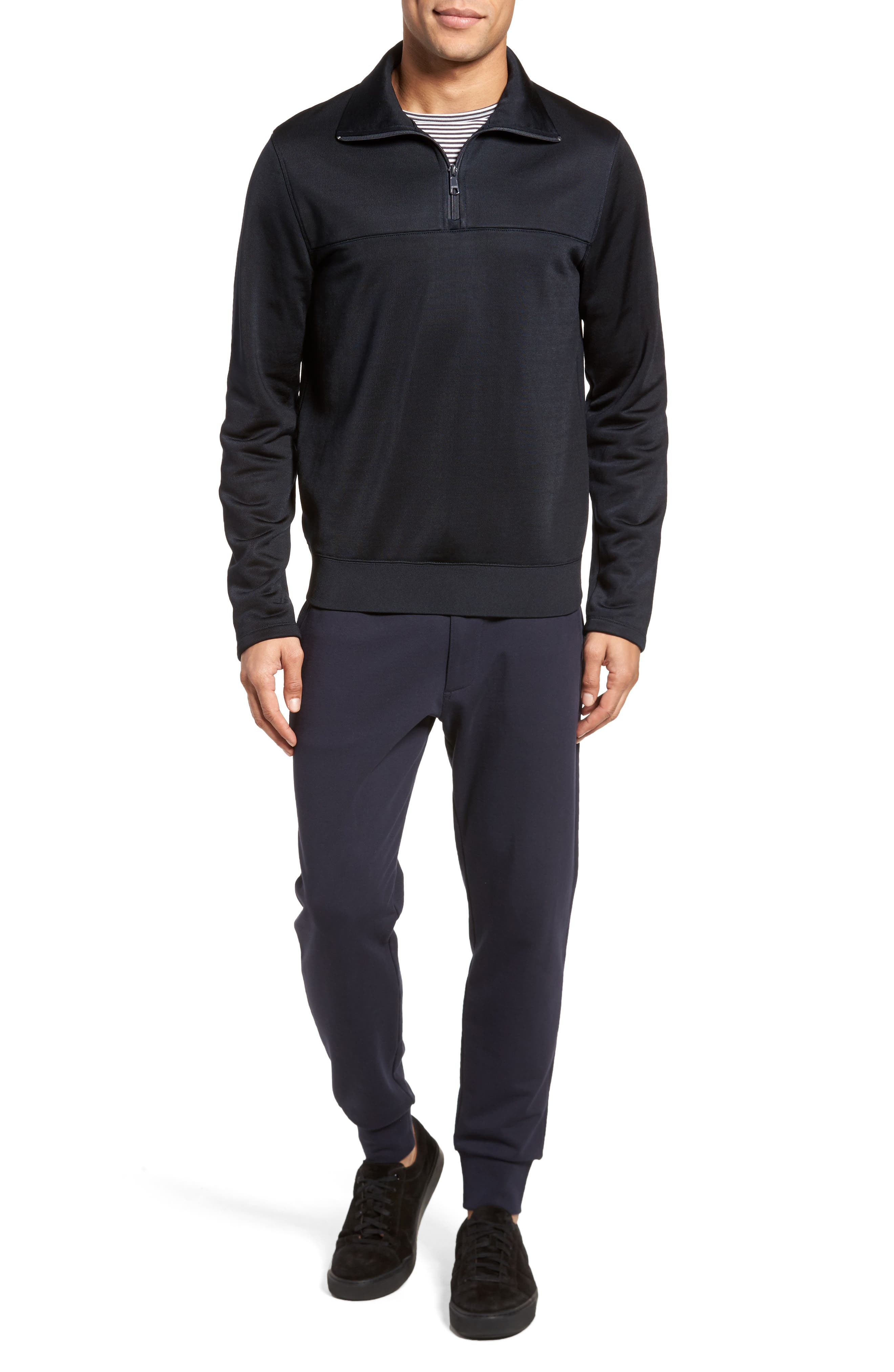 Quarter Zip Pullover,                             Alternate thumbnail 14, color,