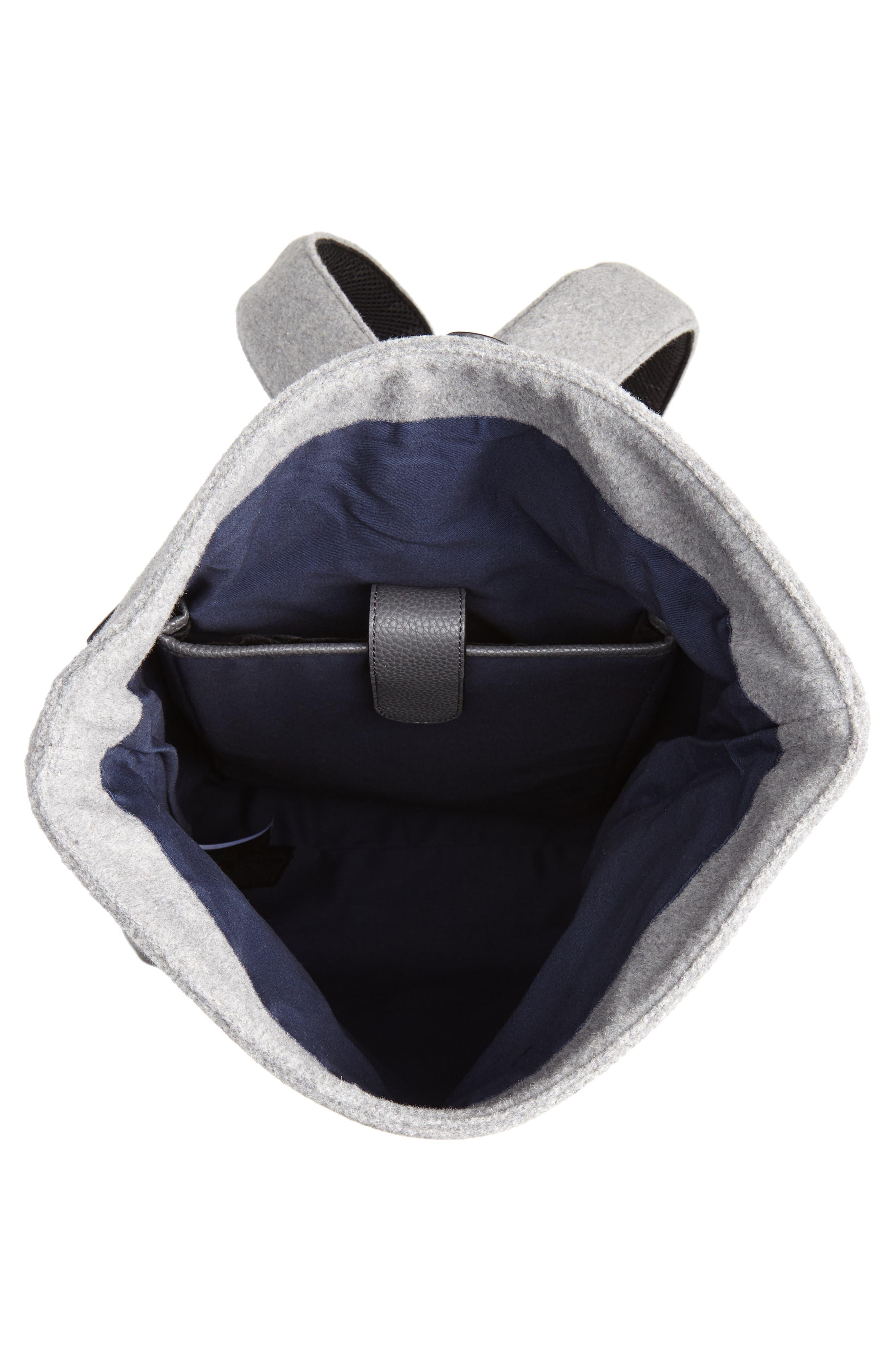 Cashed Backpack,                             Alternate thumbnail 4, color,                             GREY