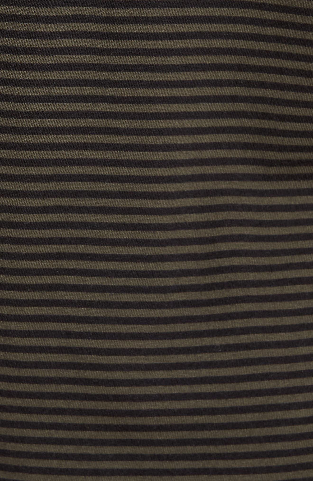 Feeder Stripe Long Sleeve Shirt,                             Alternate thumbnail 10, color,