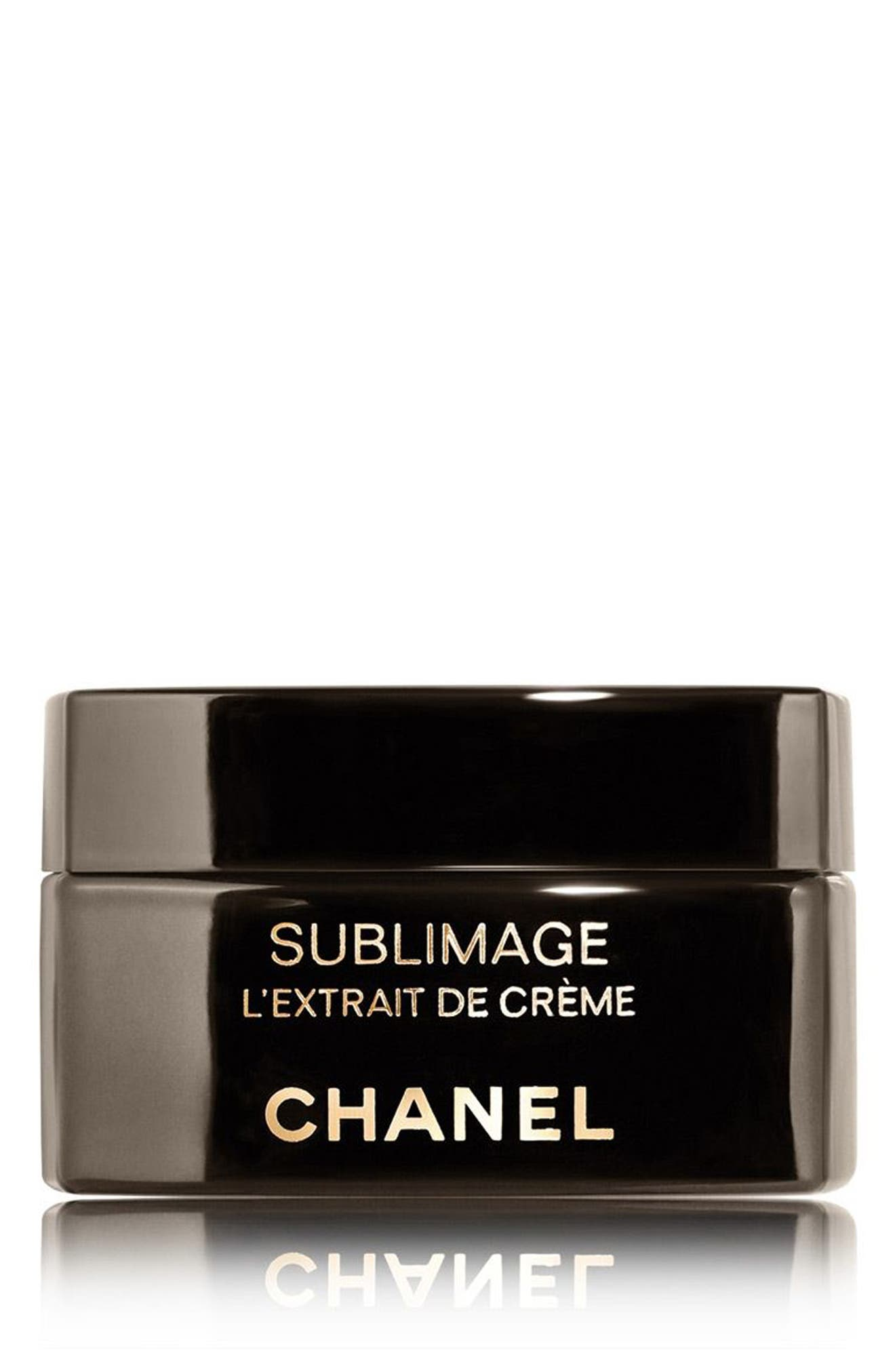 CHANEL,                             SUBLIMAGE LEXTRAIT DE CRÈME Ultimate Regeneration and Restoring Cream,                             Main thumbnail 1, color,                             NO COLOR