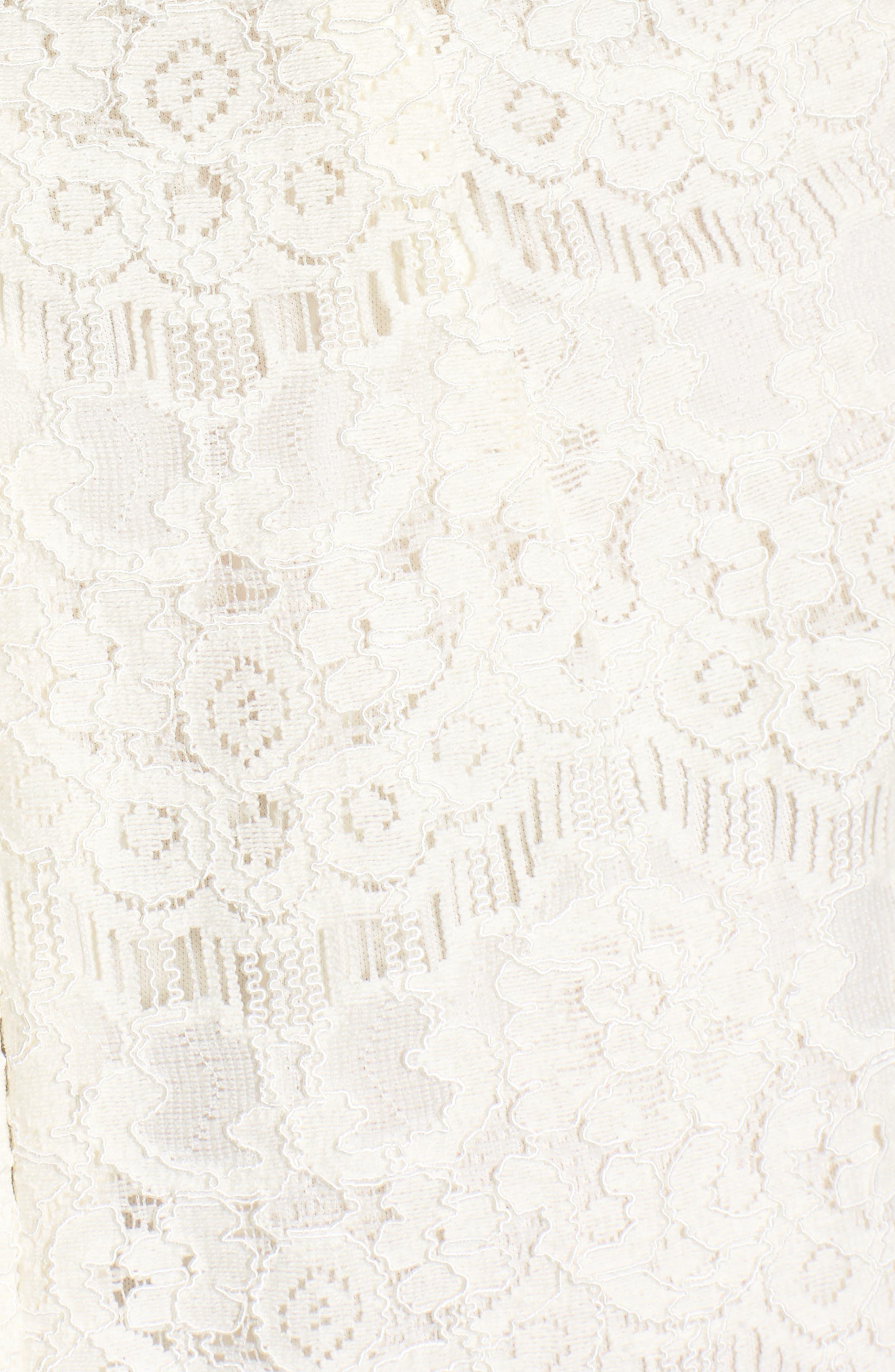 Lace Body-Con Minidress,                             Alternate thumbnail 21, color,