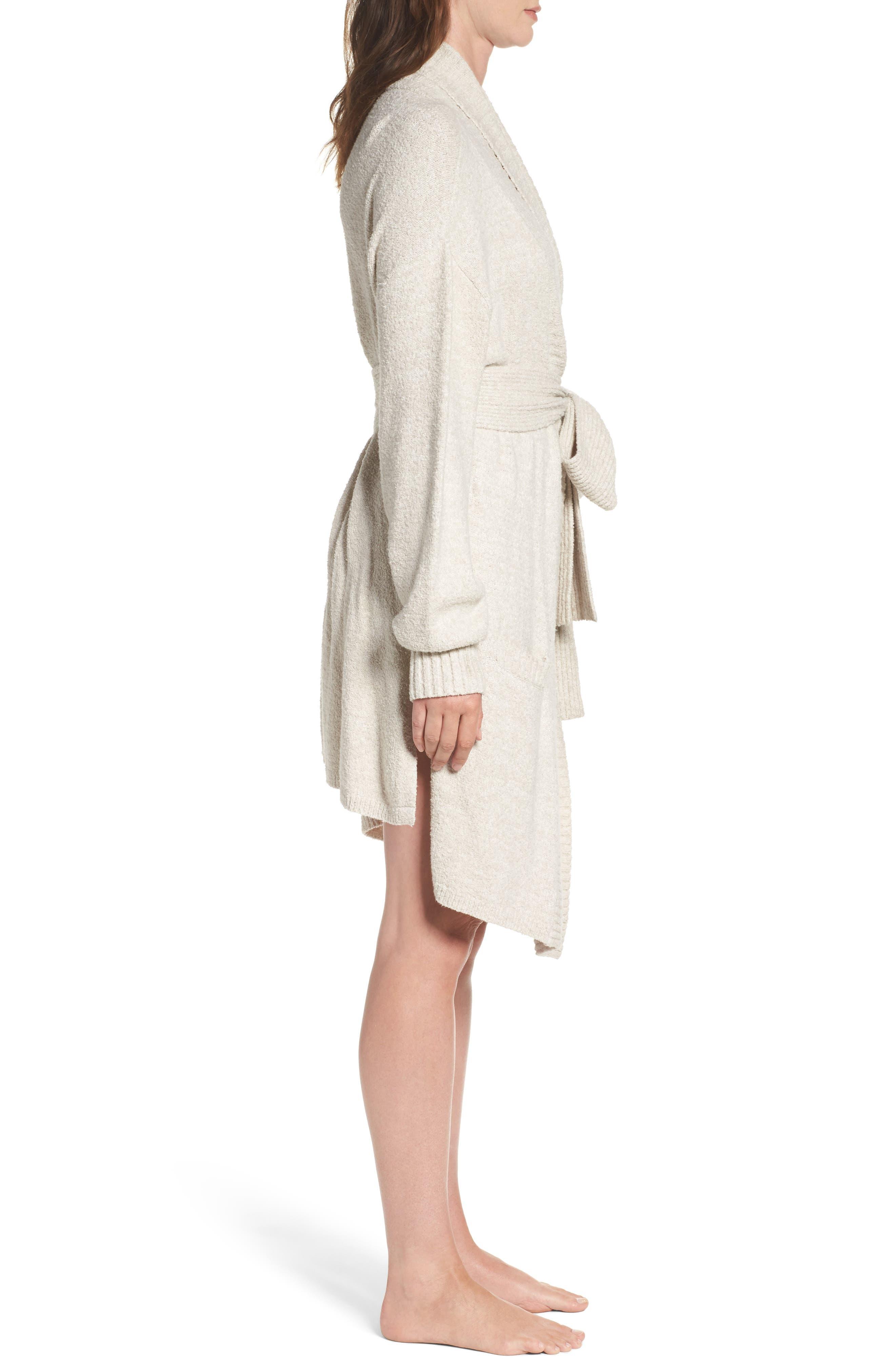 Britta Plush Robe,                             Alternate thumbnail 3, color,                             900