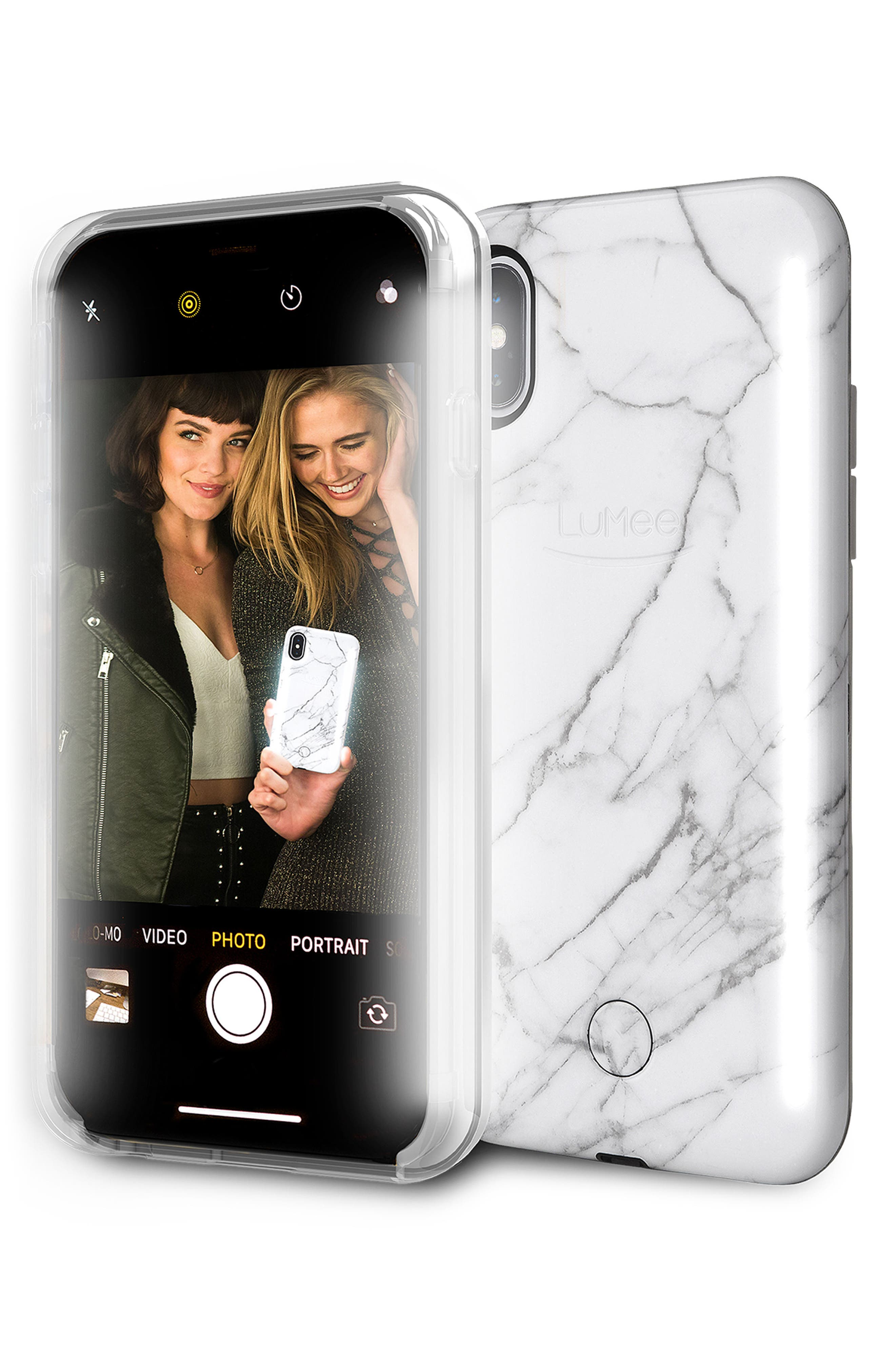 LUMEE,                             Duo LED Lighted iPhone X/Xs Case,                             Alternate thumbnail 5, color,                             100
