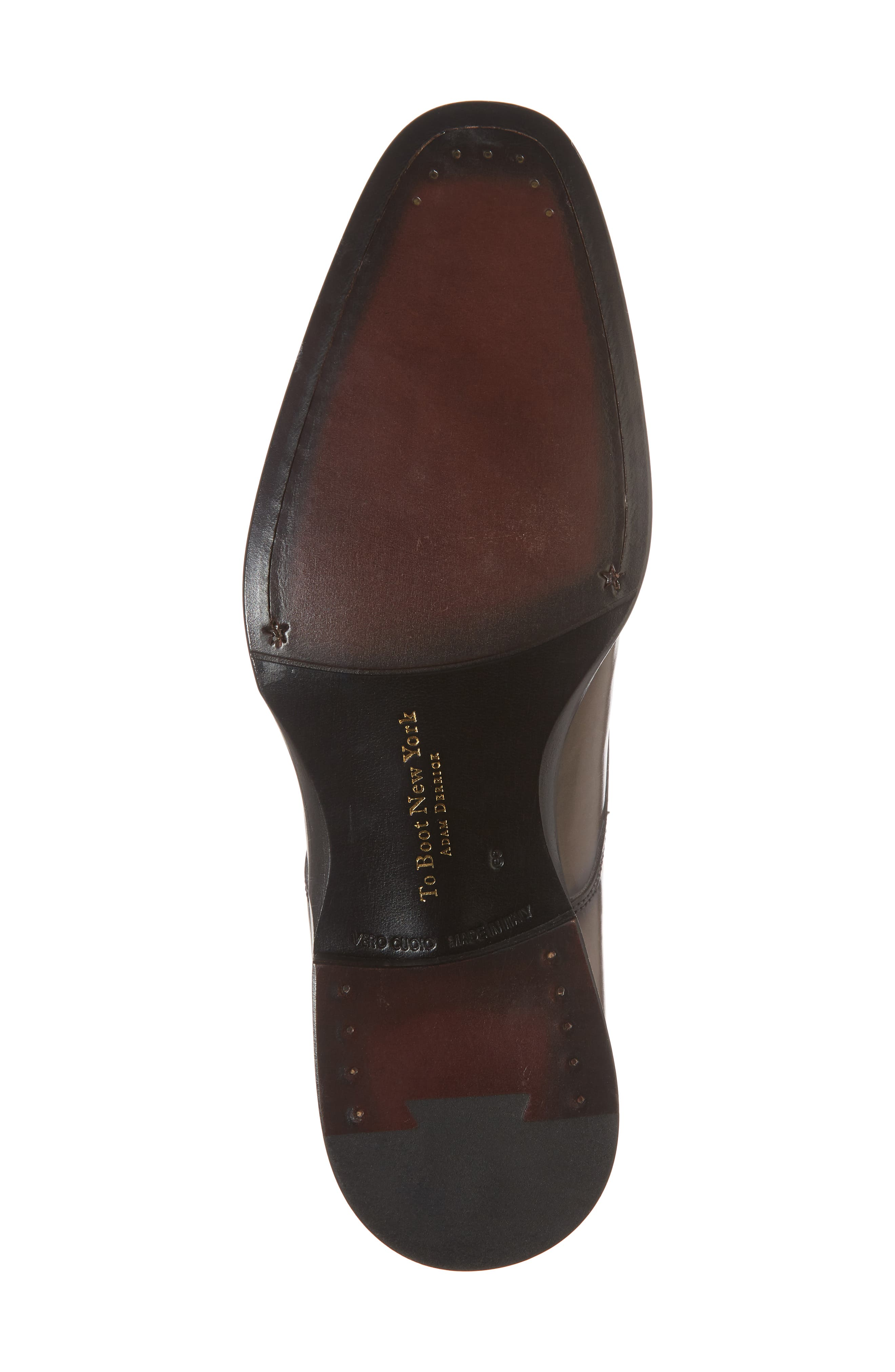 Academy Plain Toe Derby,                             Alternate thumbnail 6, color,                             GREY LEATHER