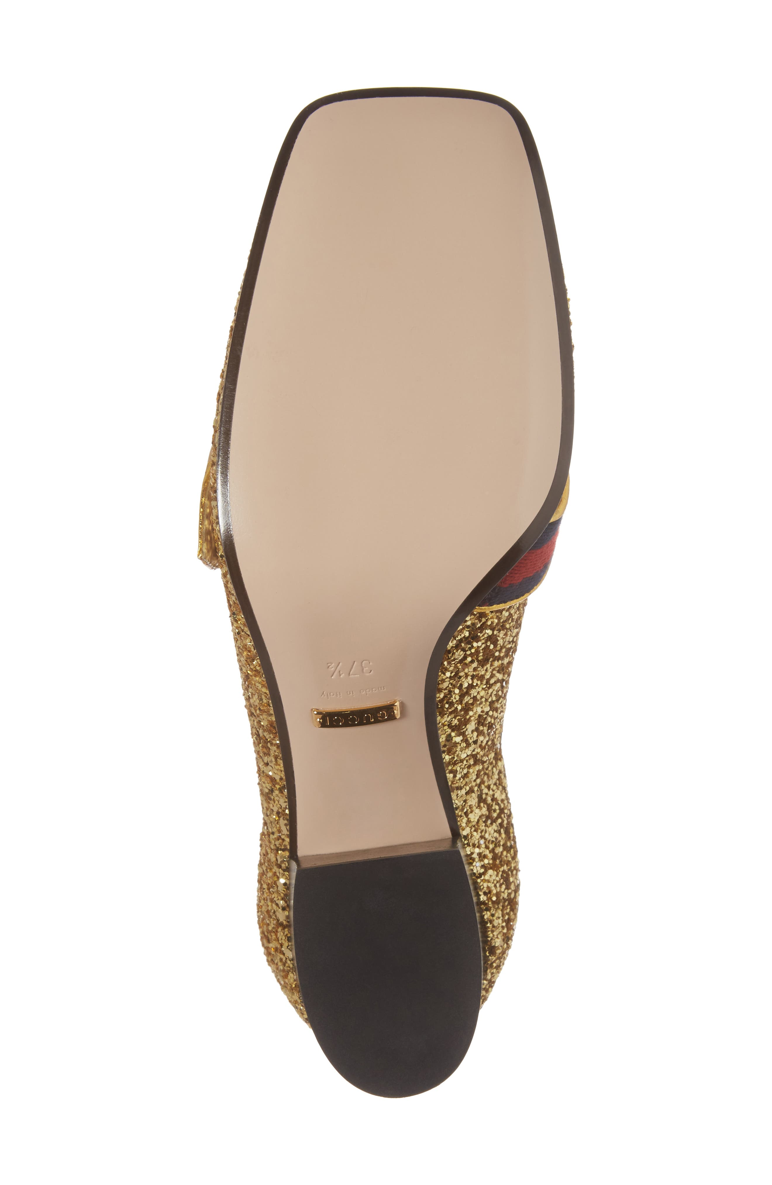 Glitter Peyton Loafer Pump,                             Alternate thumbnail 7, color,