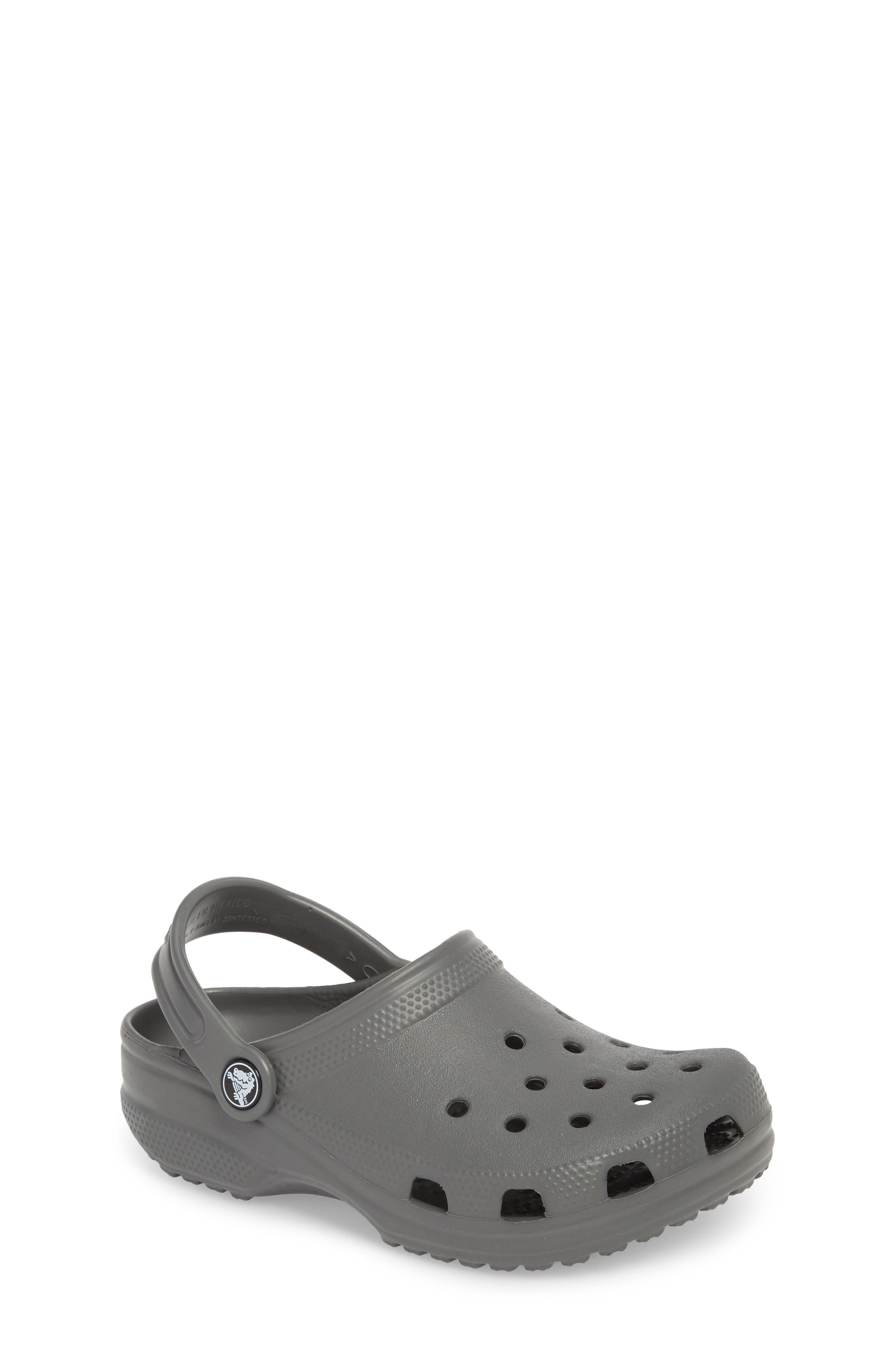 Classic Clog Sandal,                         Main,                         color, SLATE GREY