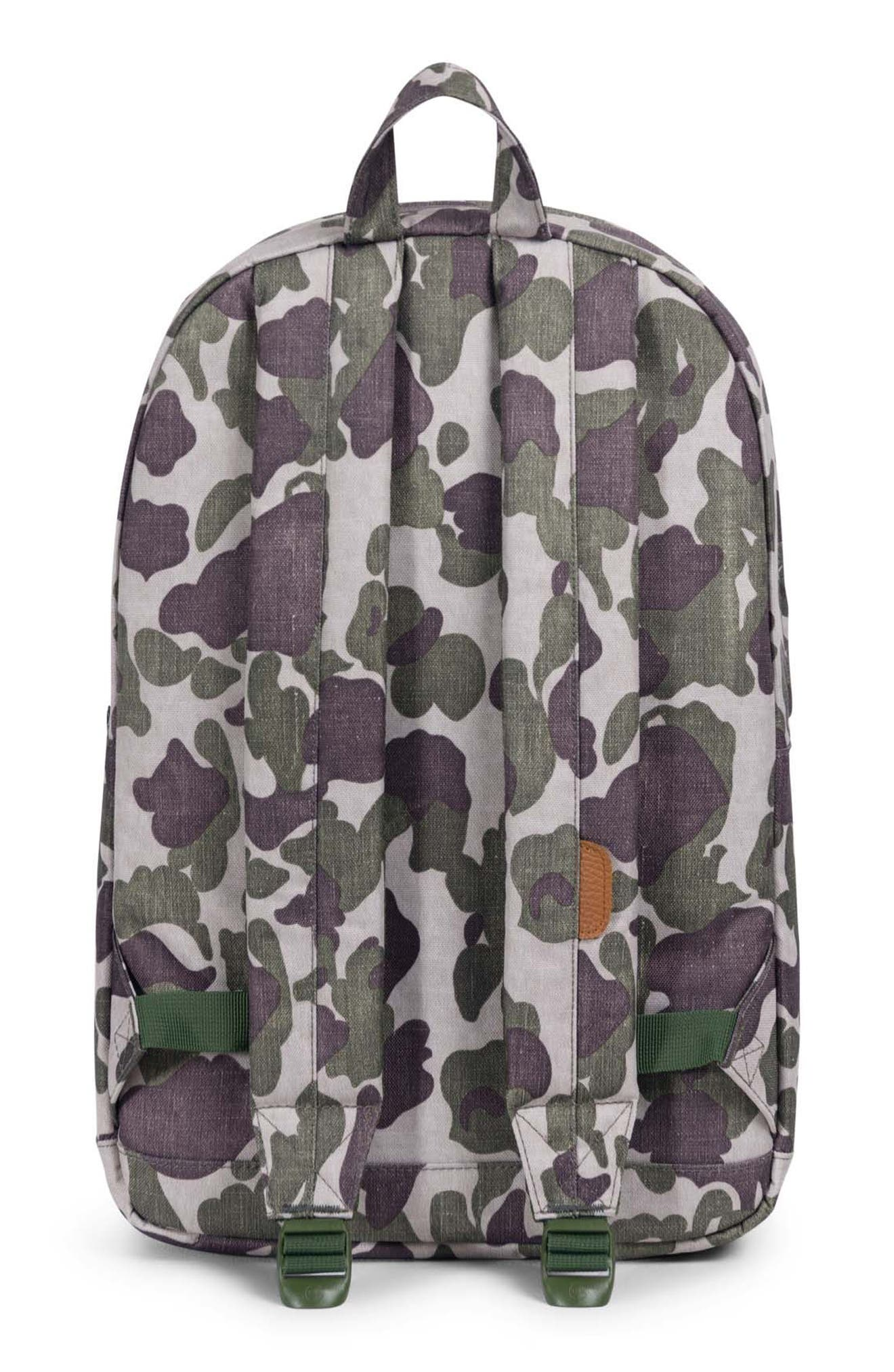 Pop Quiz Backpack,                             Alternate thumbnail 2, color,                             FROG CAMO