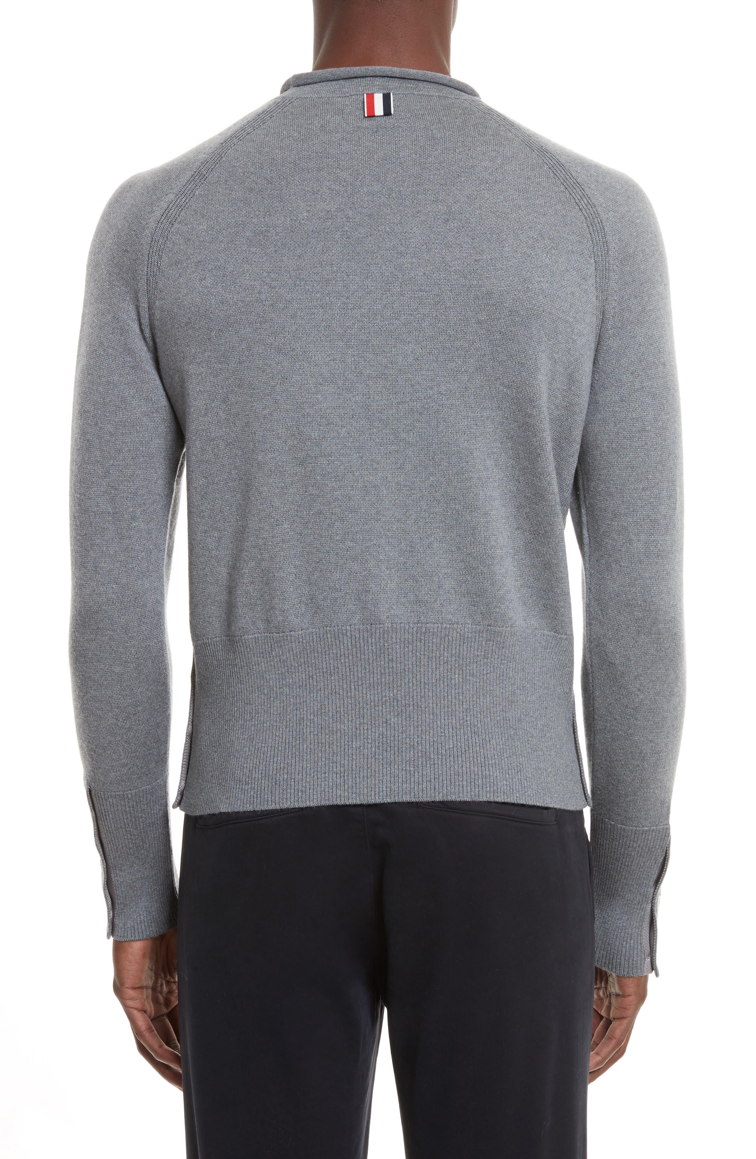 Raglan Merino Wool Sweater,                             Alternate thumbnail 2, color,                             020