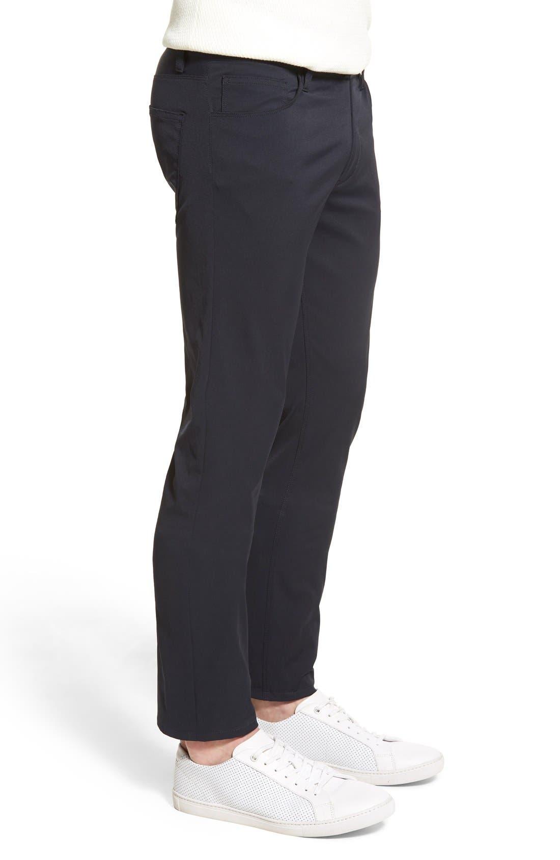 'Zaine Neoteric' Slim Fit Pants,                             Alternate thumbnail 8, color,