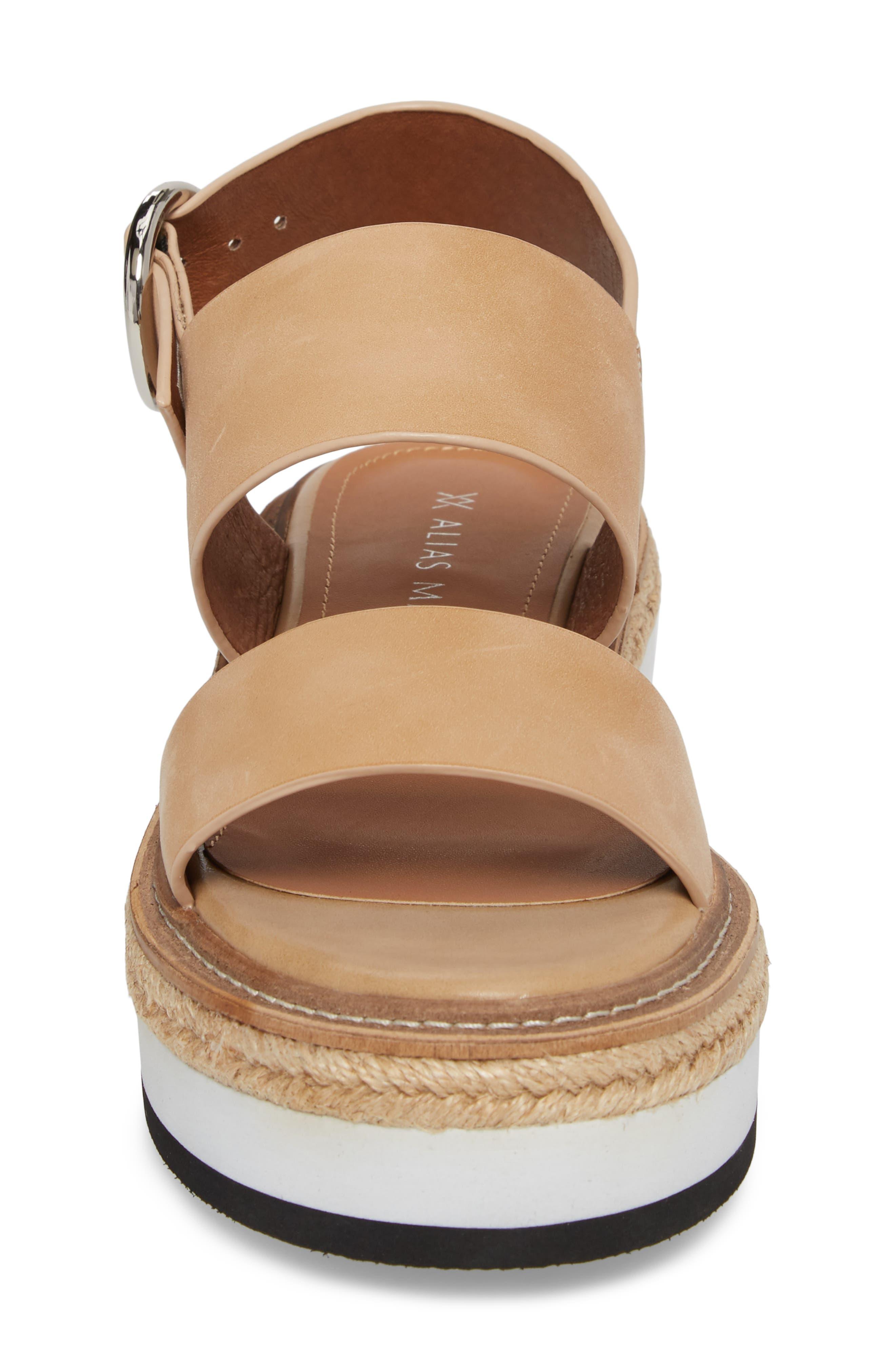 Niche Platform Sandal,                             Alternate thumbnail 8, color,