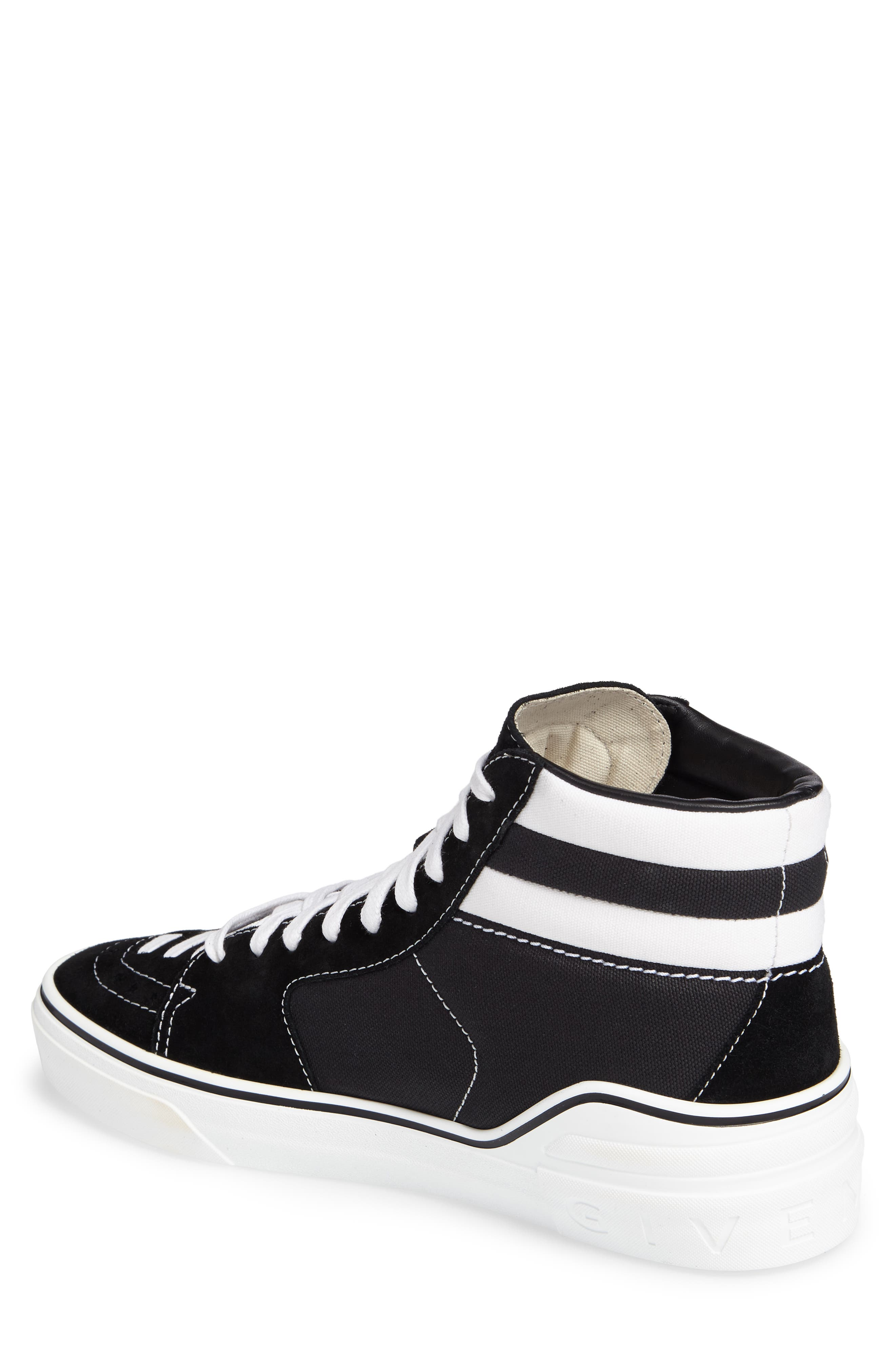 High Top Sneaker,                             Alternate thumbnail 2, color,                             004